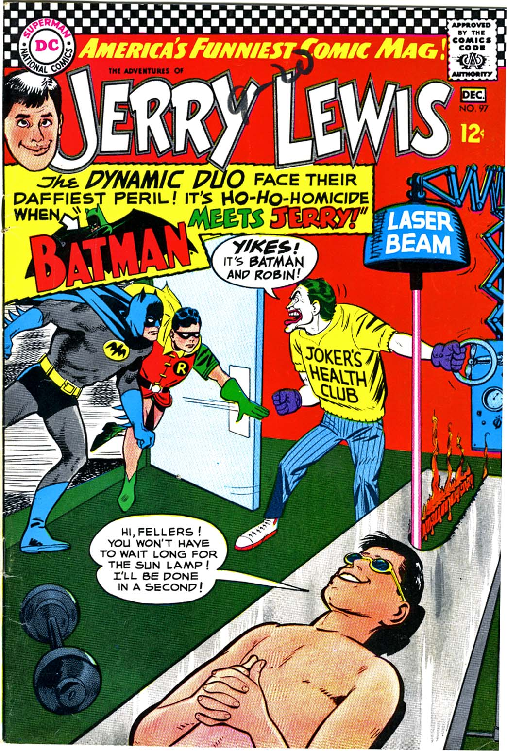 The Adventures of Jerry Lewis 97 Page 1