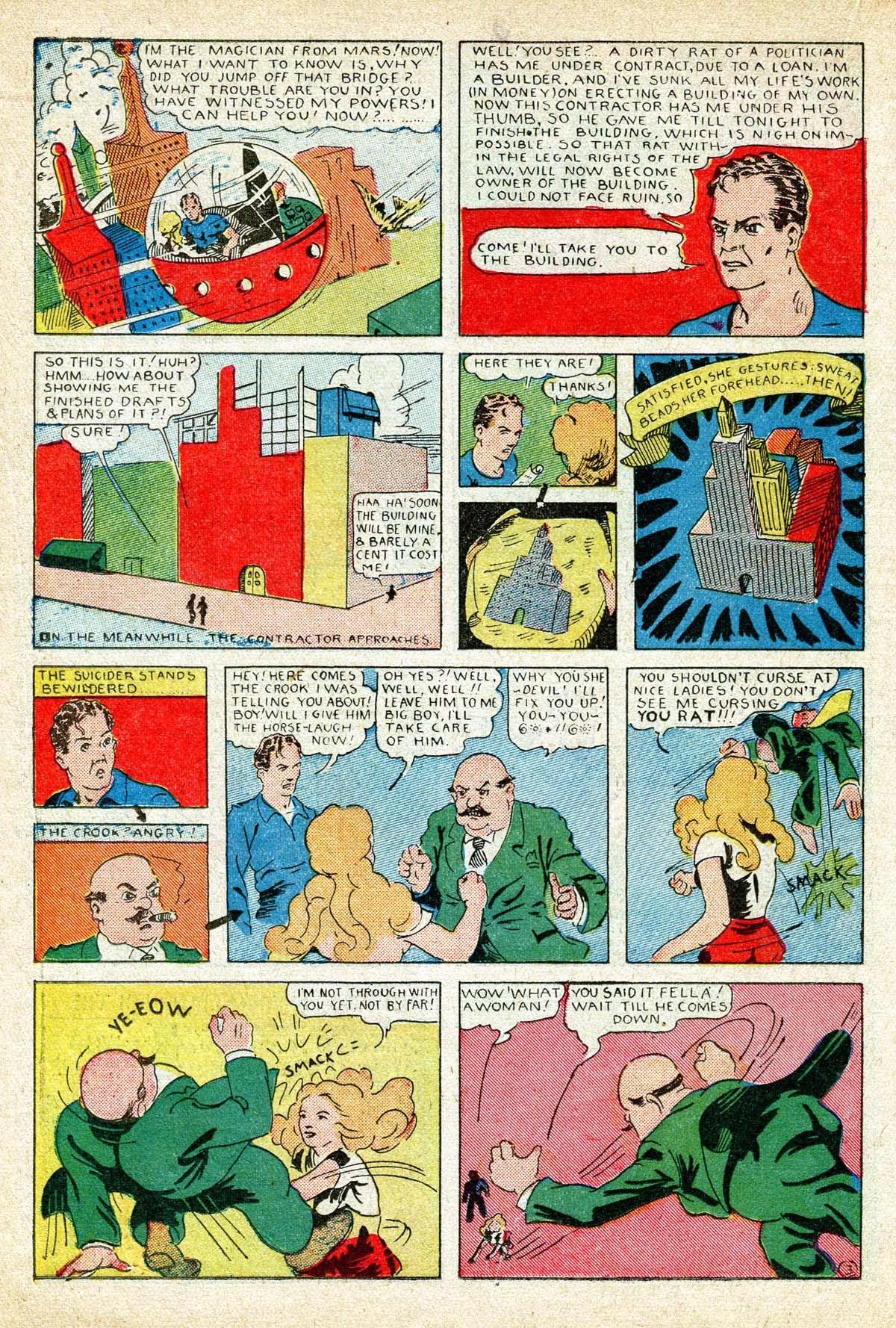 Read online Amazing Man Comics comic -  Issue #8 - 32