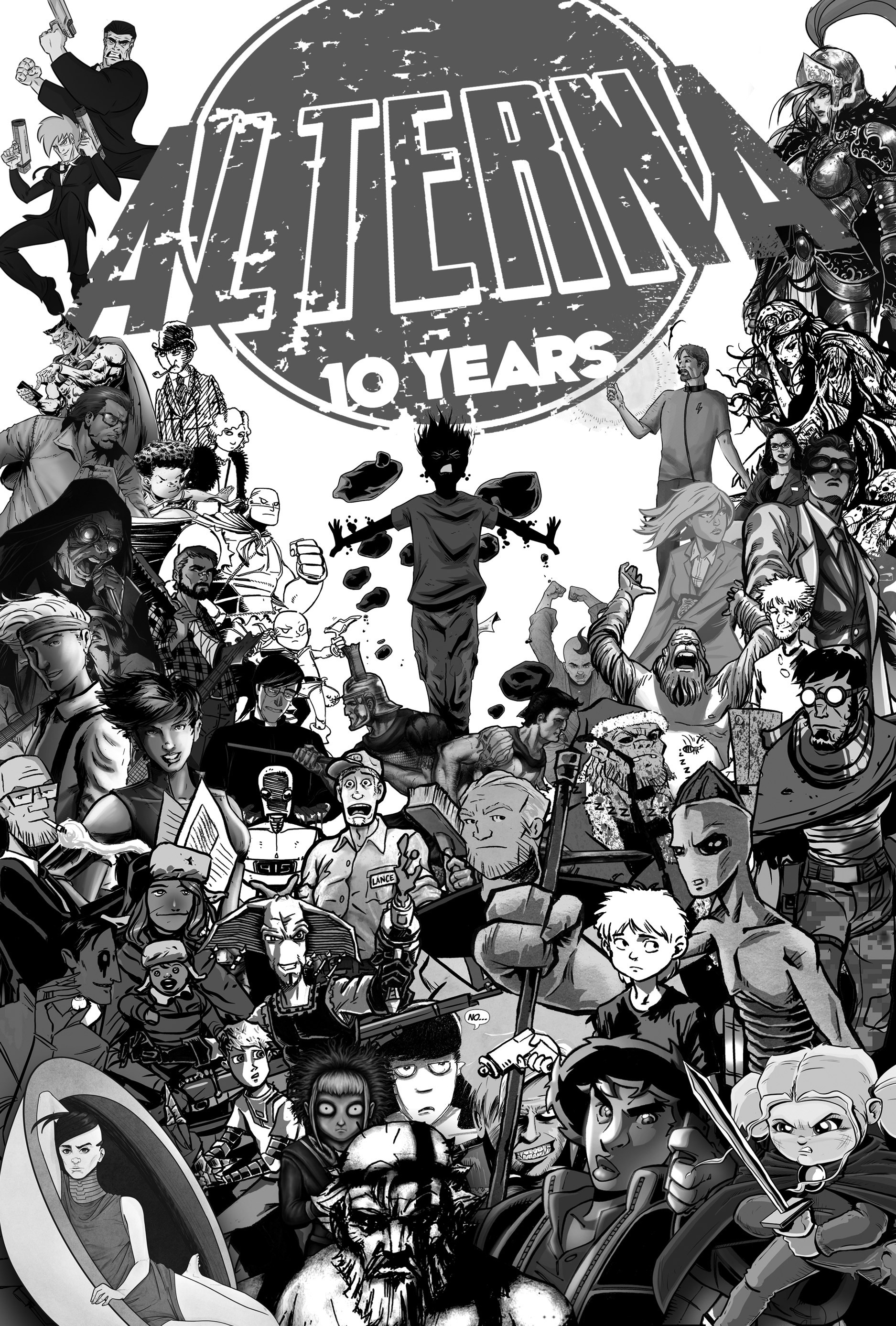 Read online Alterna AnniverSERIES Anthology comic -  Issue # Full (Part 1) - 4