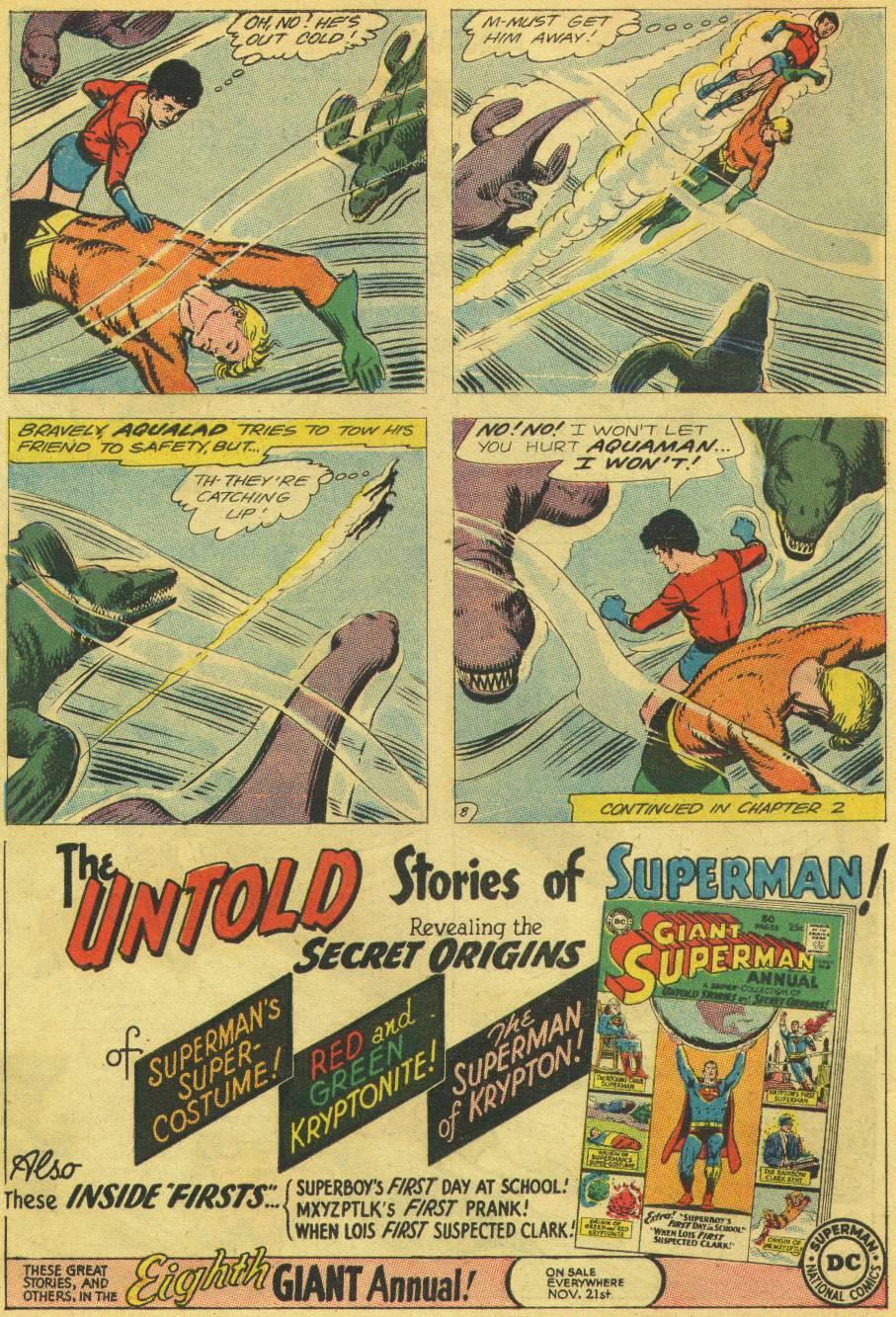 Read online Aquaman (1962) comic -  Issue #13 - 10