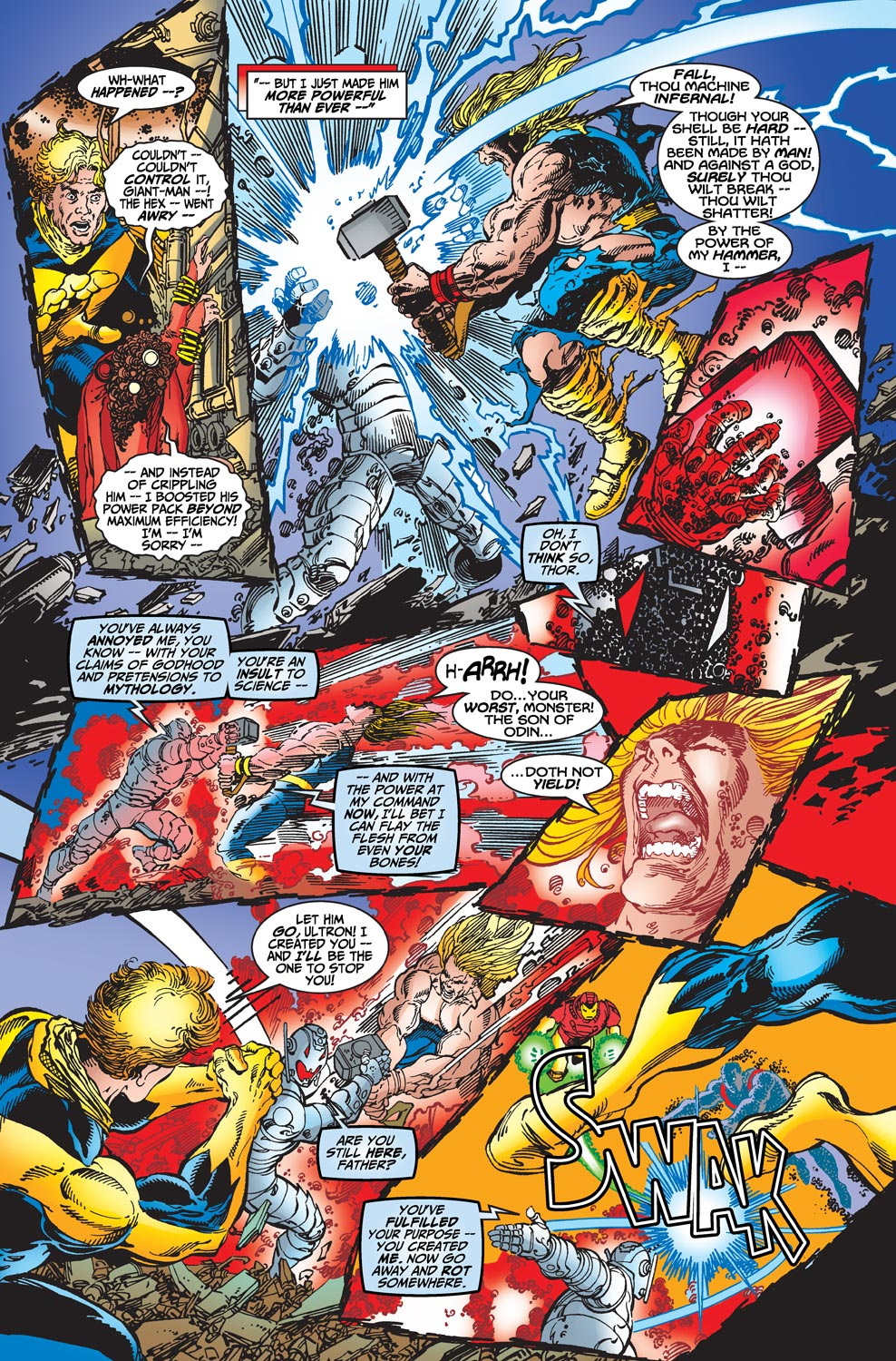 Read online Avengers (1998) comic -  Issue #22 - 17