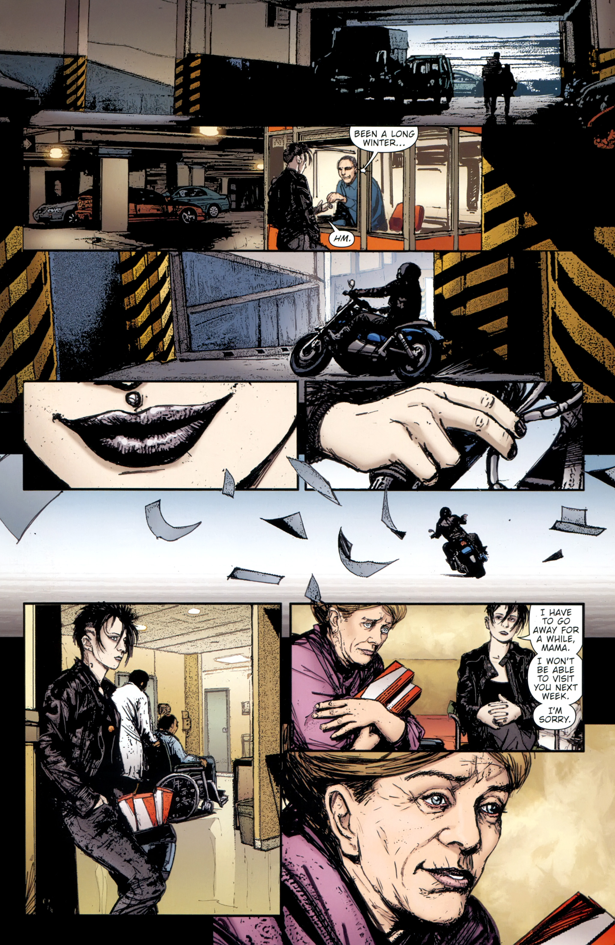 Read online The Girl With the Dragon Tattoo comic -  Issue # TPB 2 - 51
