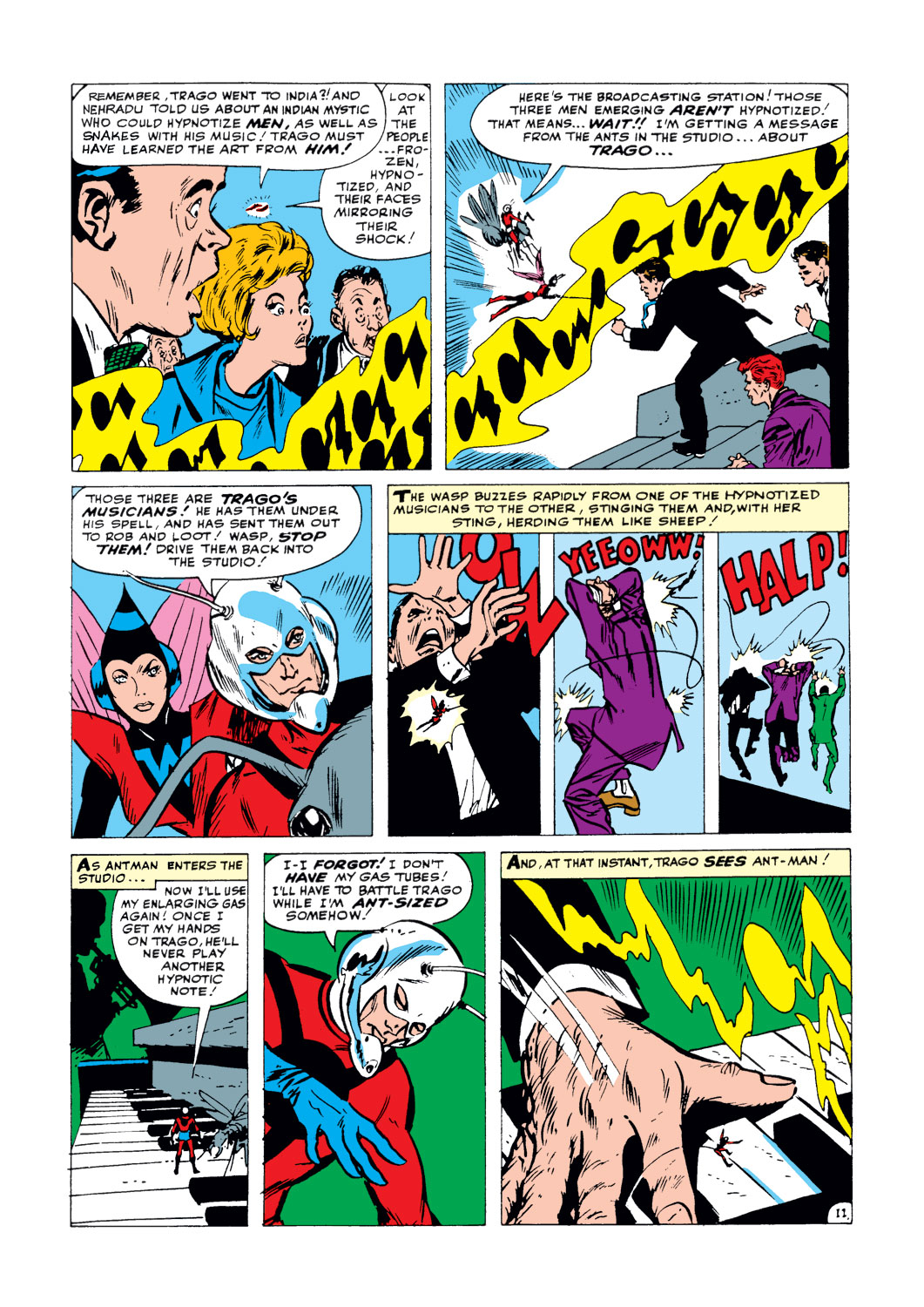 You just got STUNG!: The Wasp Appreciation - Page 191