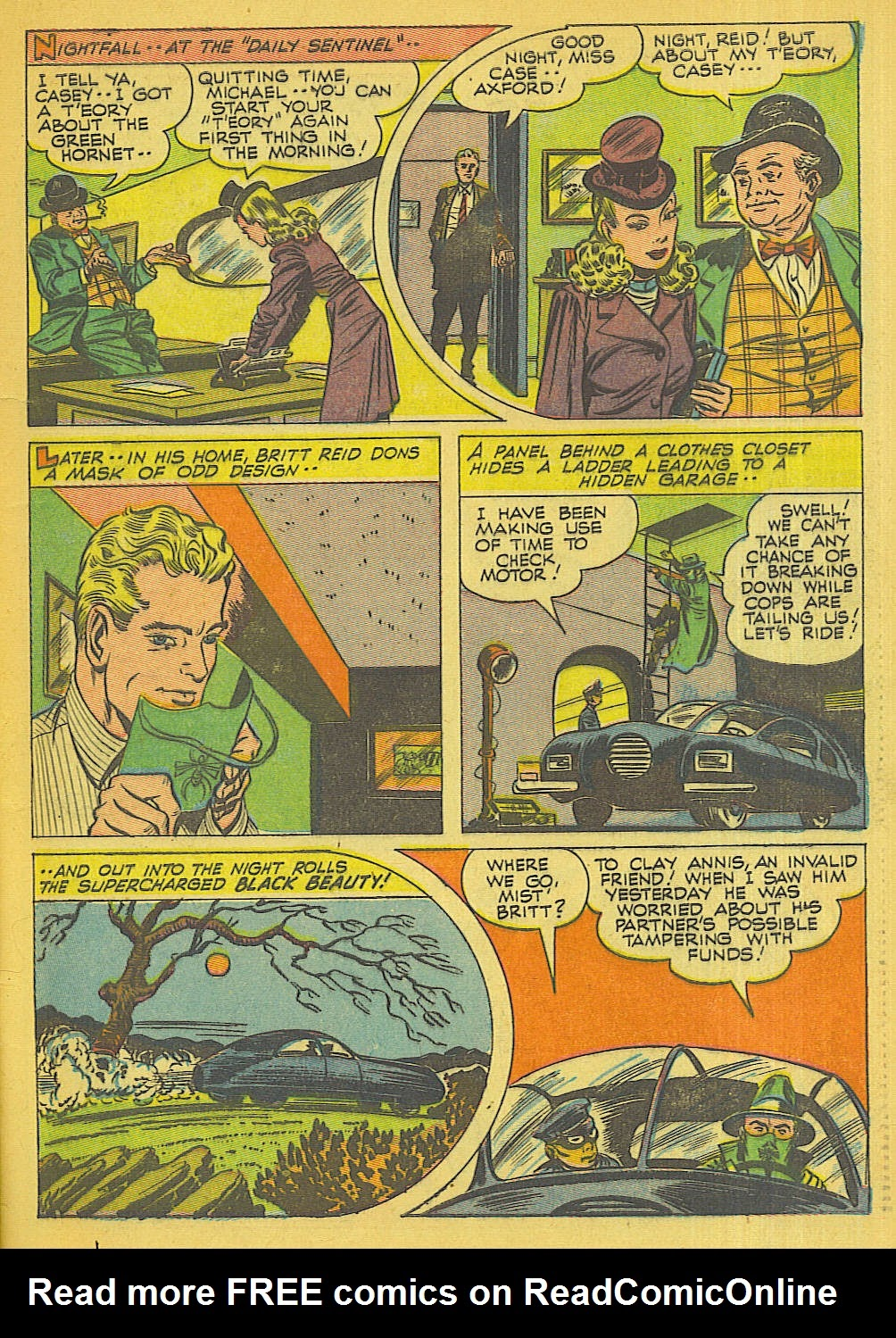 Green Hornet Comics issue 32 - Page 6