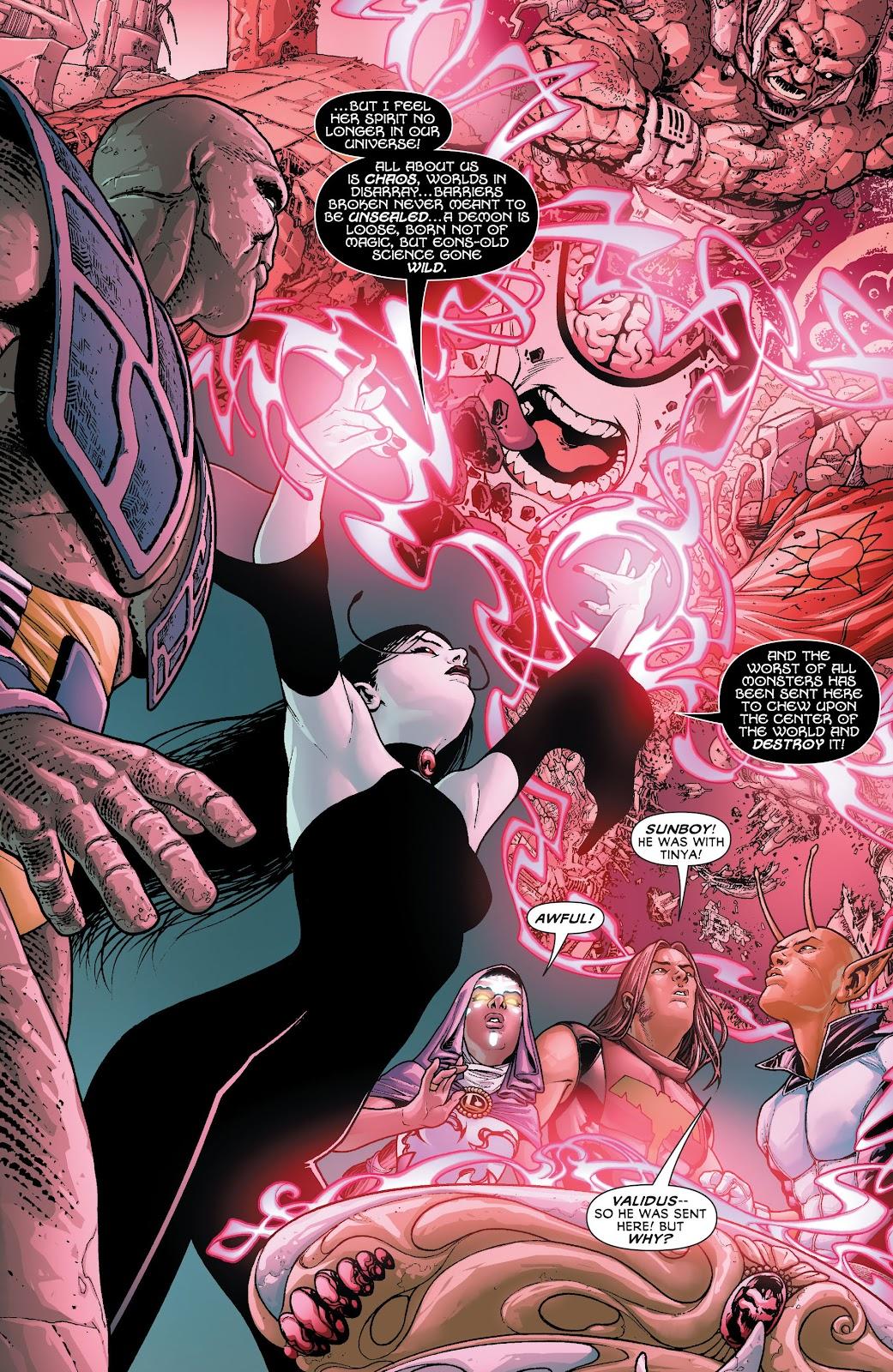 Legion of Super-Heroes (2011) Issue #20 #21 - English 9
