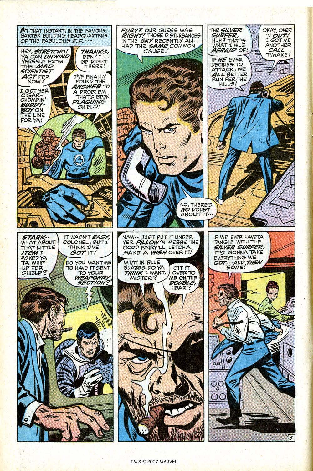 Read online Silver Surfer (1968) comic -  Issue #17 - 8
