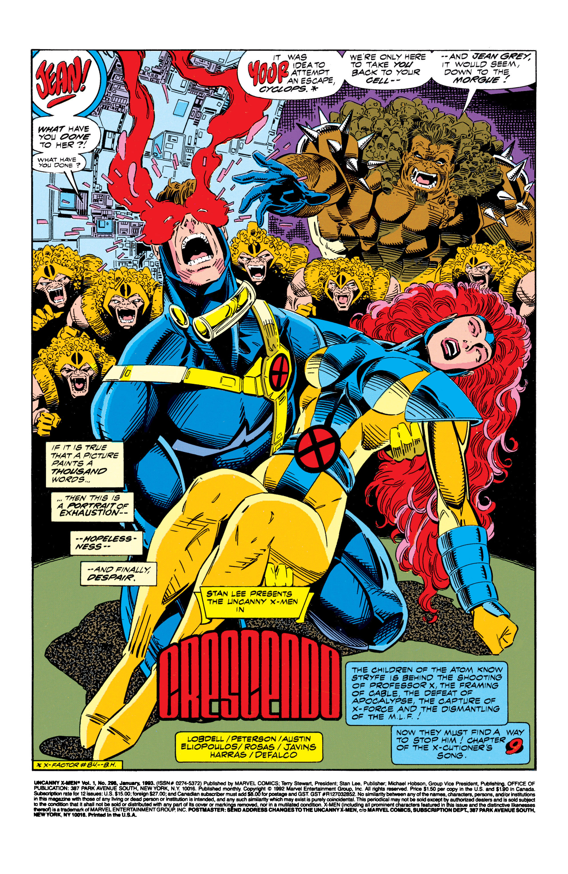 Read online Uncanny X-Men (1963) comic -  Issue #296 - 2