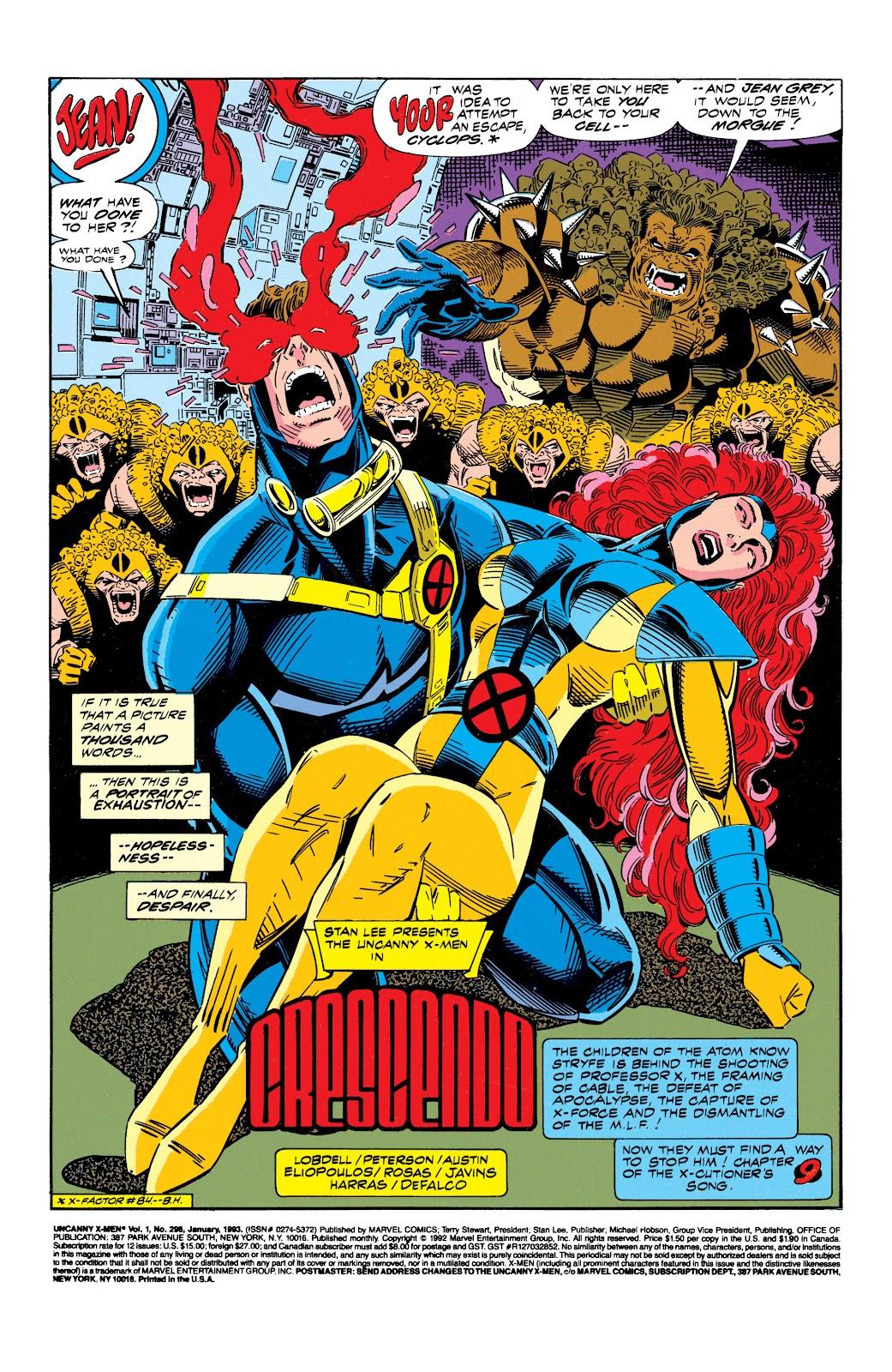 Uncanny X-Men (1963) issue 296 - Page 2