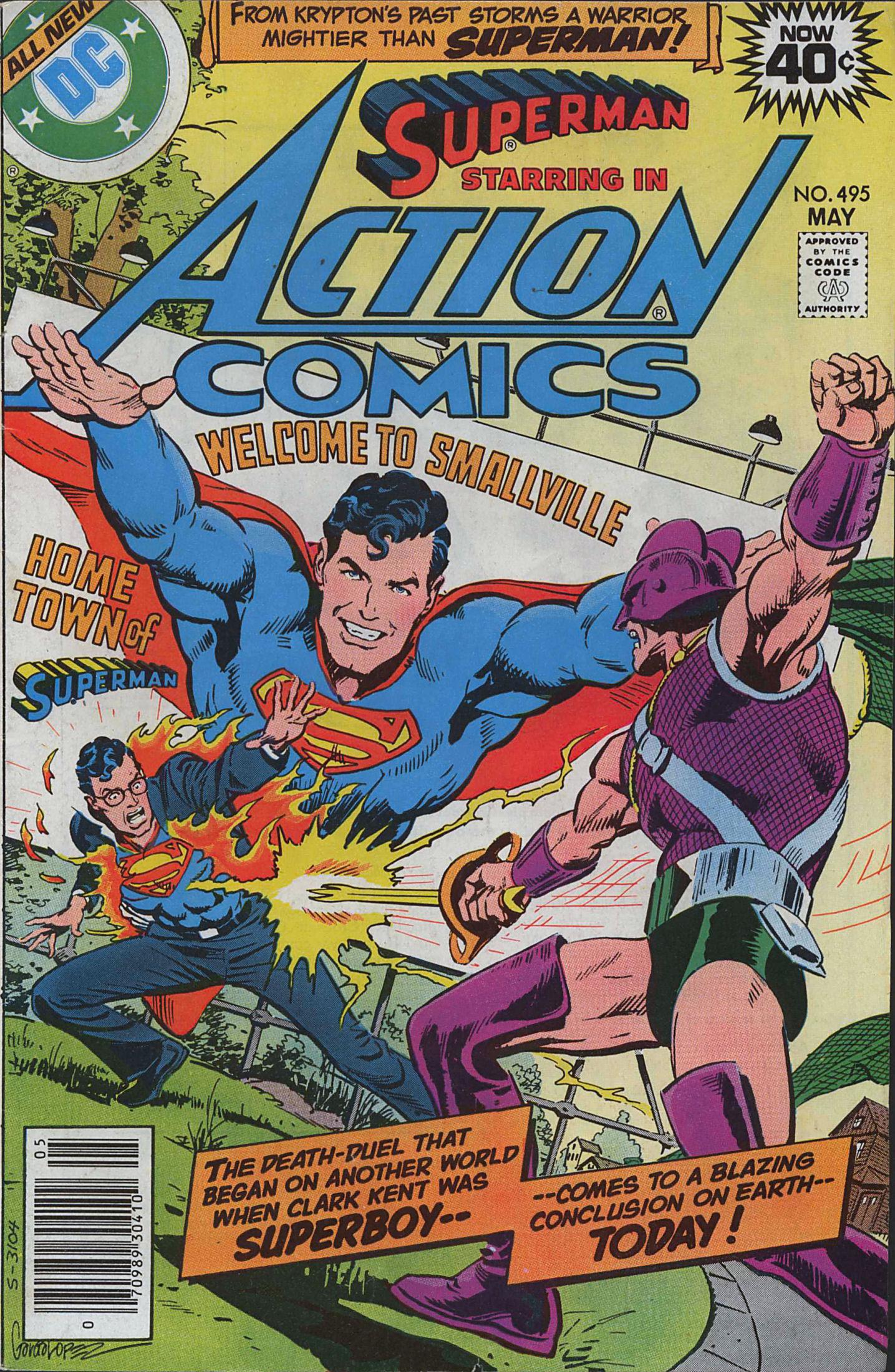 Action Comics (1938) 495 Page 0