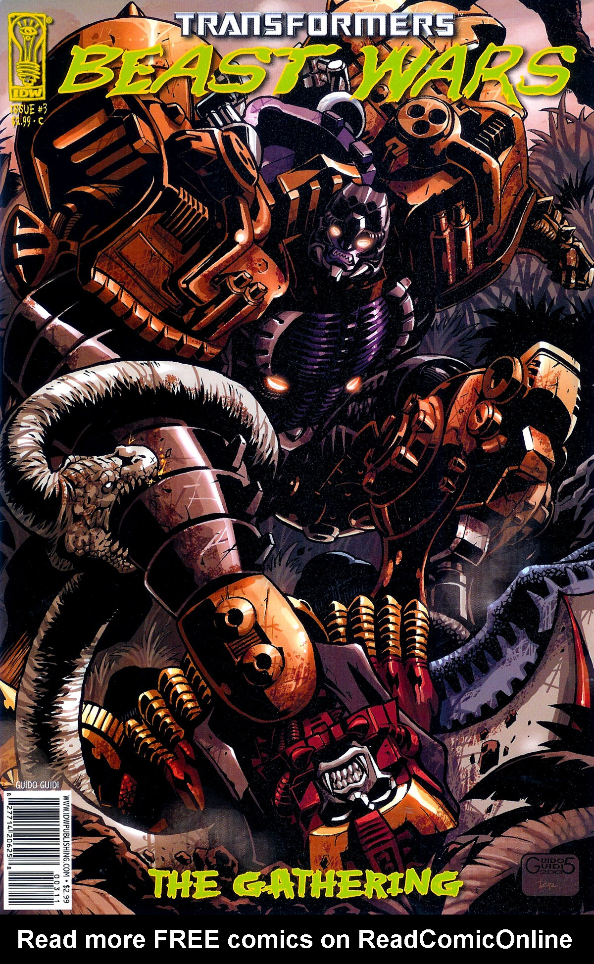 Read online Transformers, Beast Wars: The Gathering comic -  Issue #3 - 3