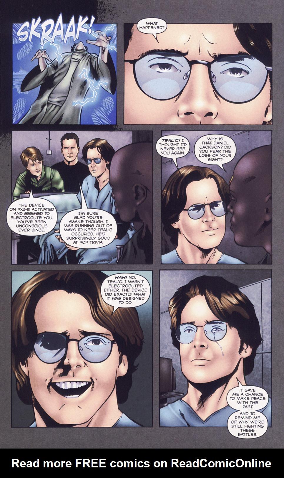 Read online Stargate SG-1: Daniel's Song comic -  Issue # Full - 14