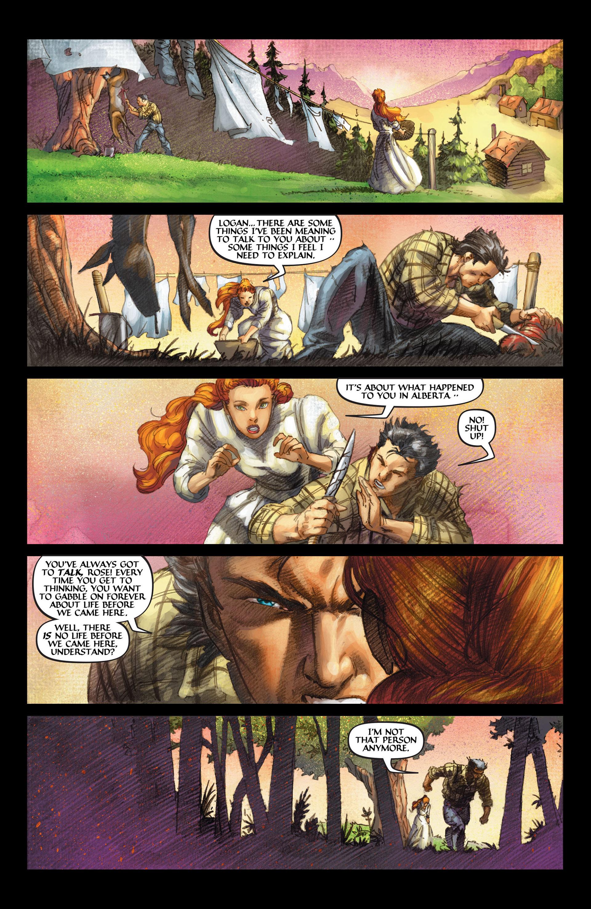 Read online Wolverine: The Origin comic -  Issue #4 - 18