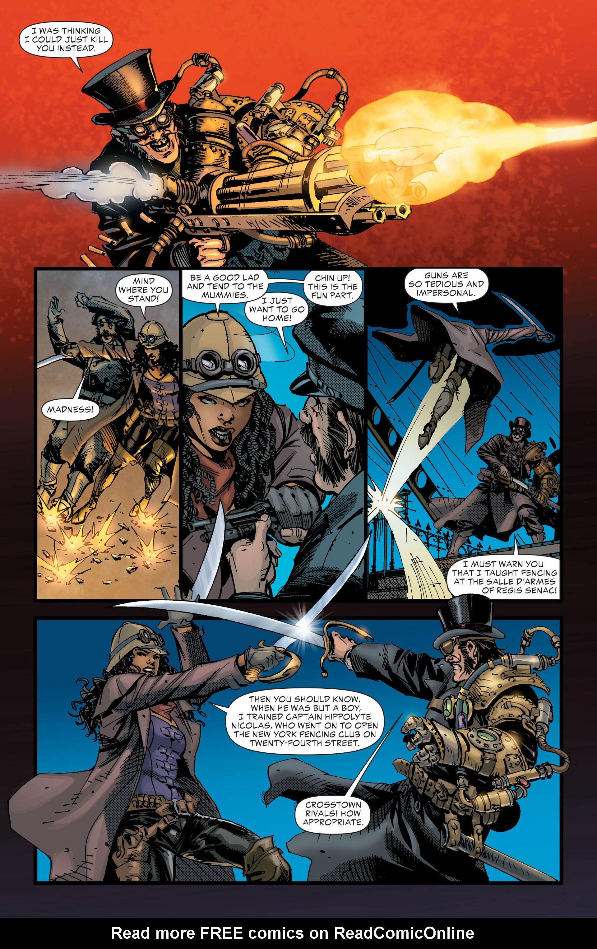 Read online All-Star Western (2011) comic -  Issue #17 - 26