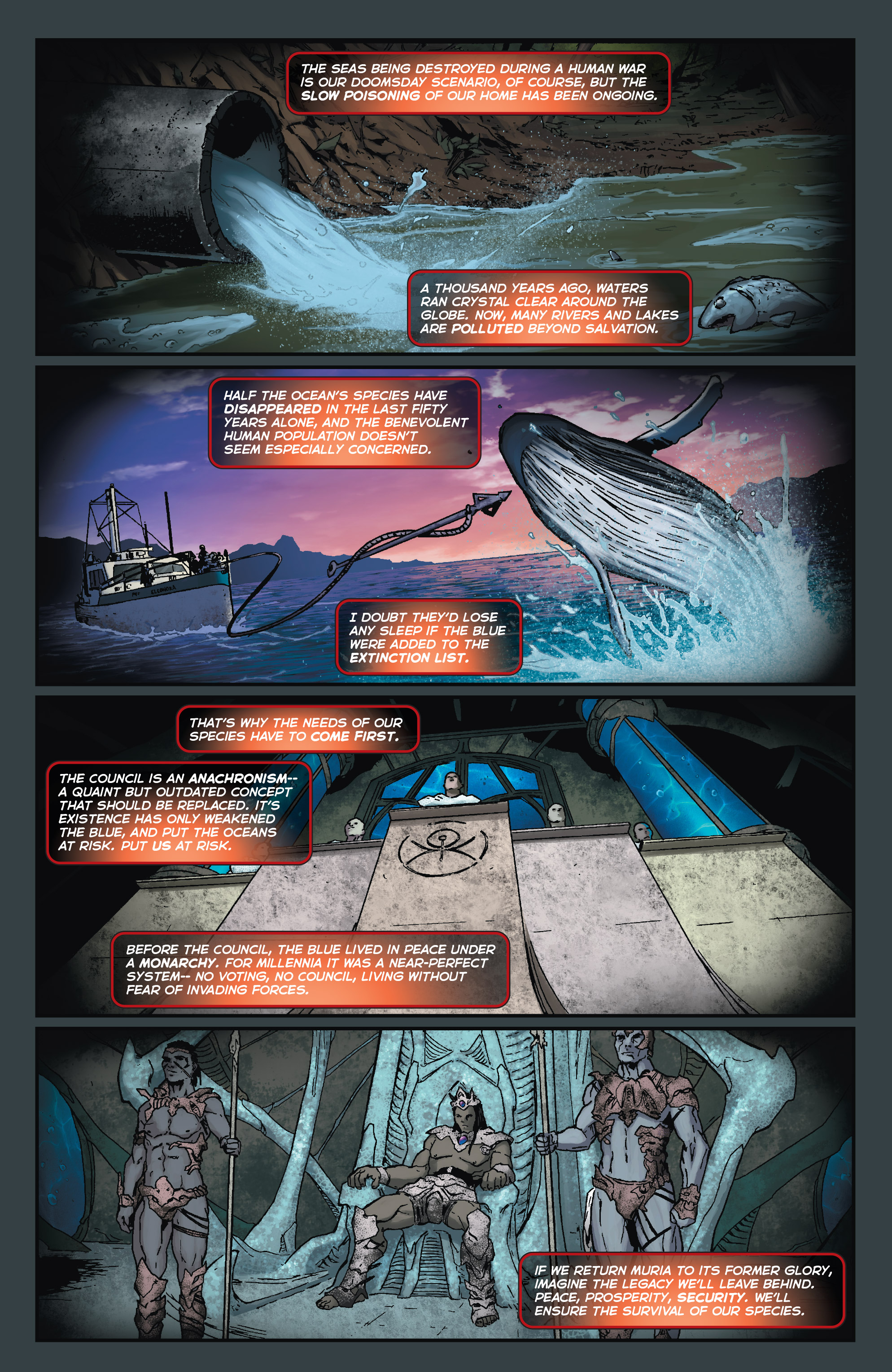 Read online Fathom (2017) comic -  Issue #5 - 14