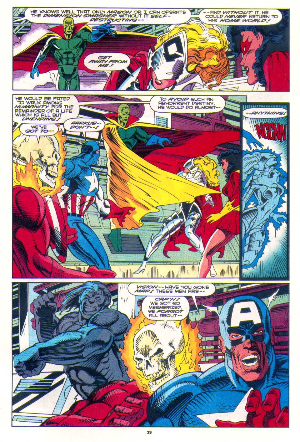 Read online The Invaders (1993) comic -  Issue #3 - 22