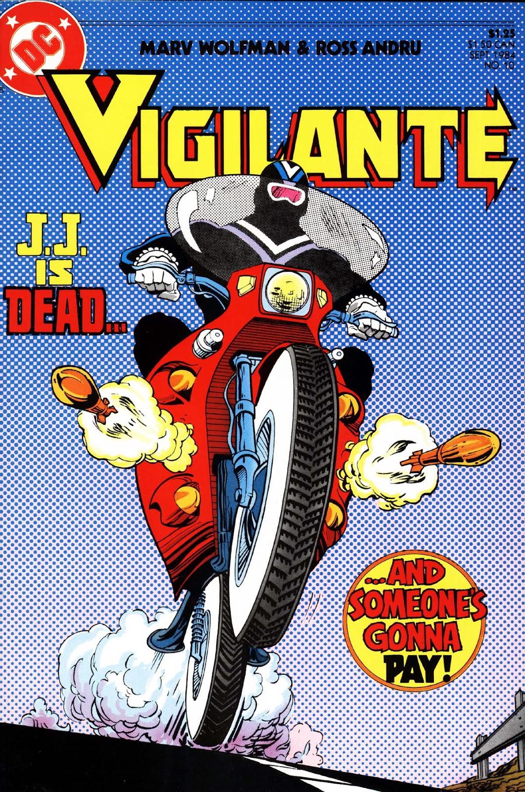 Vigilante (1983) issue 10 - Page 1