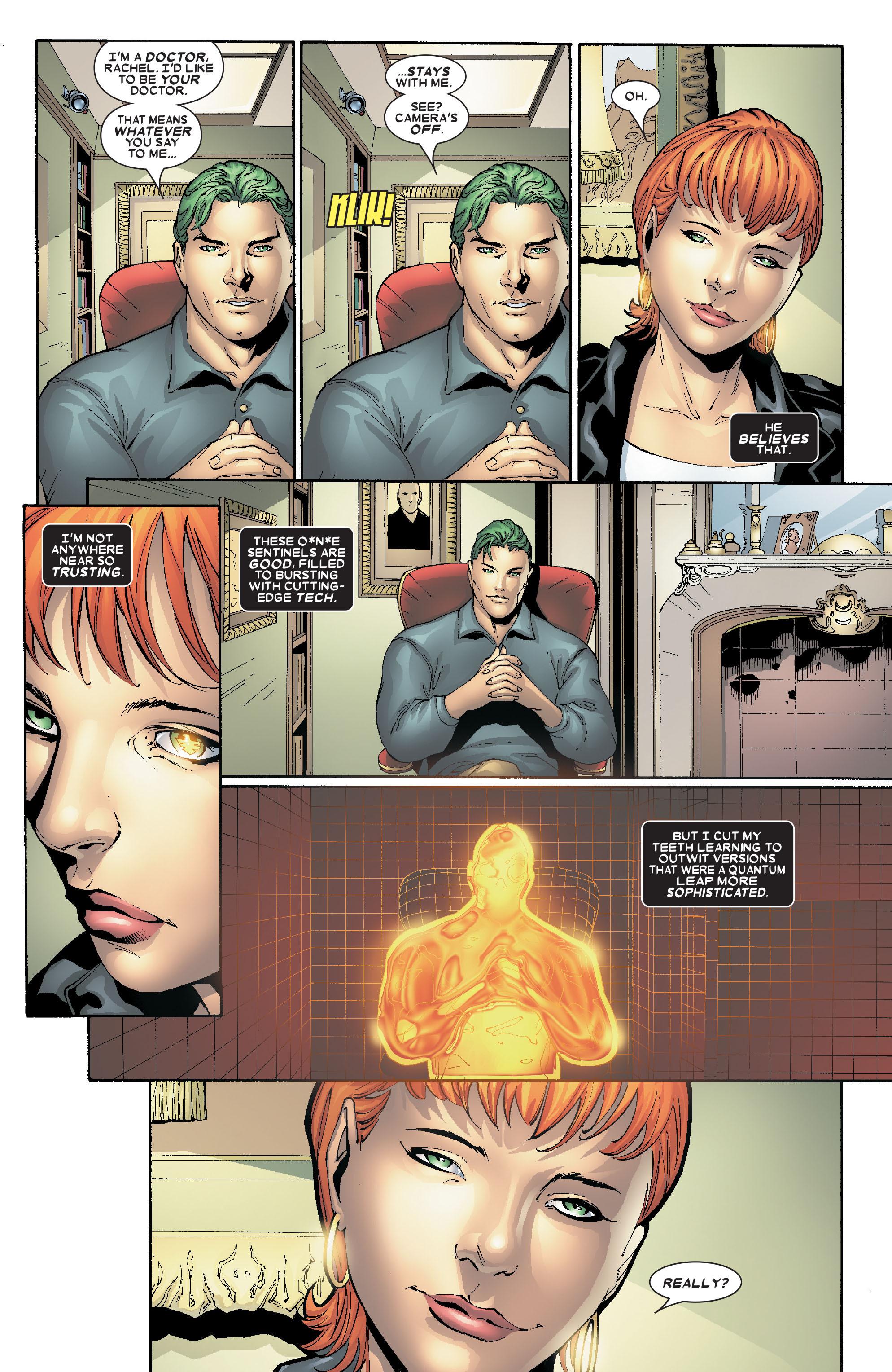 Read online Uncanny X-Men (1963) comic -  Issue #469 - 16