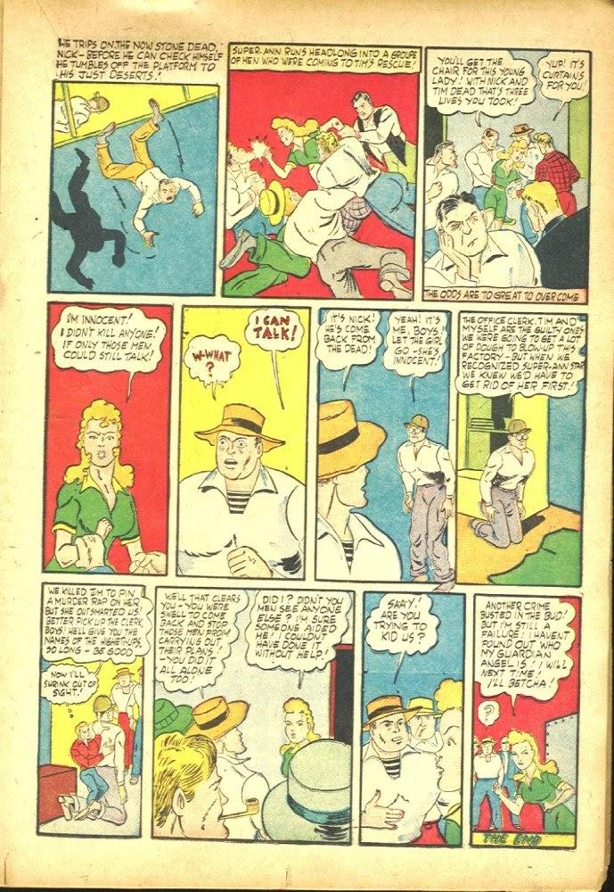 Read online Amazing Man Comics comic -  Issue #25 - 29