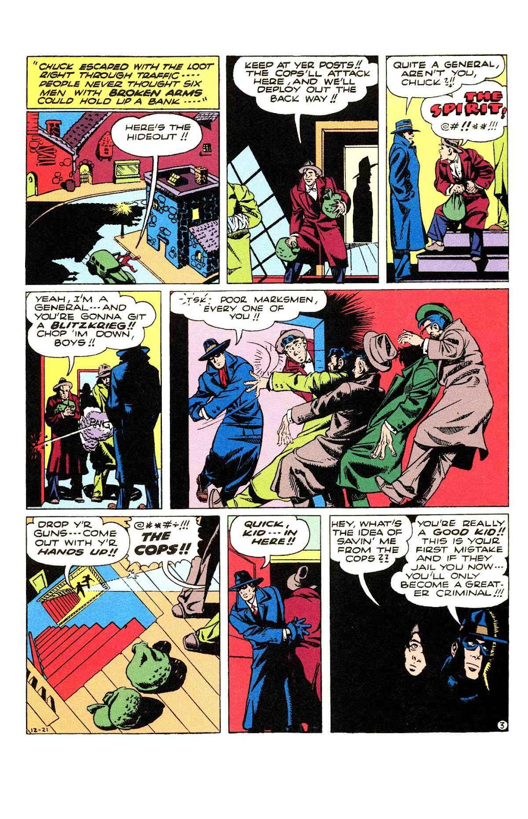 Read online Will Eisner's The Spirit Archives comic -  Issue # TPB 3 (Part 2) - 96