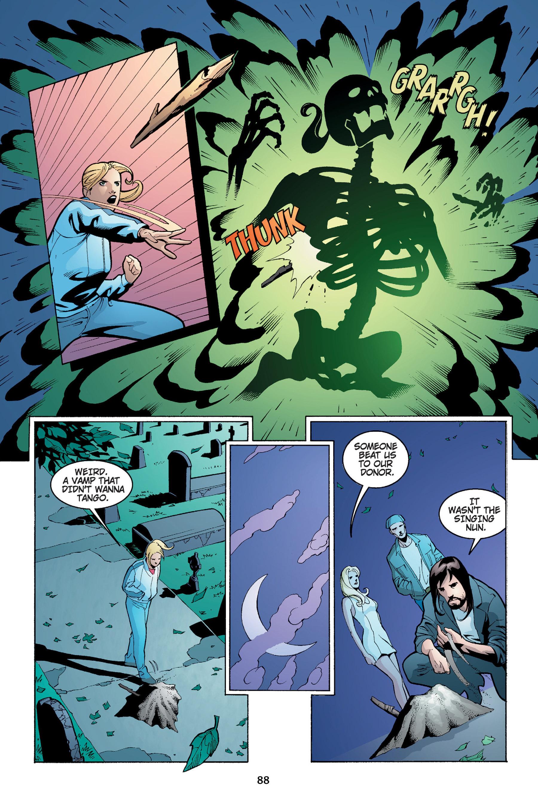 Read online Buffy the Vampire Slayer: Omnibus comic -  Issue # TPB 4 - 89