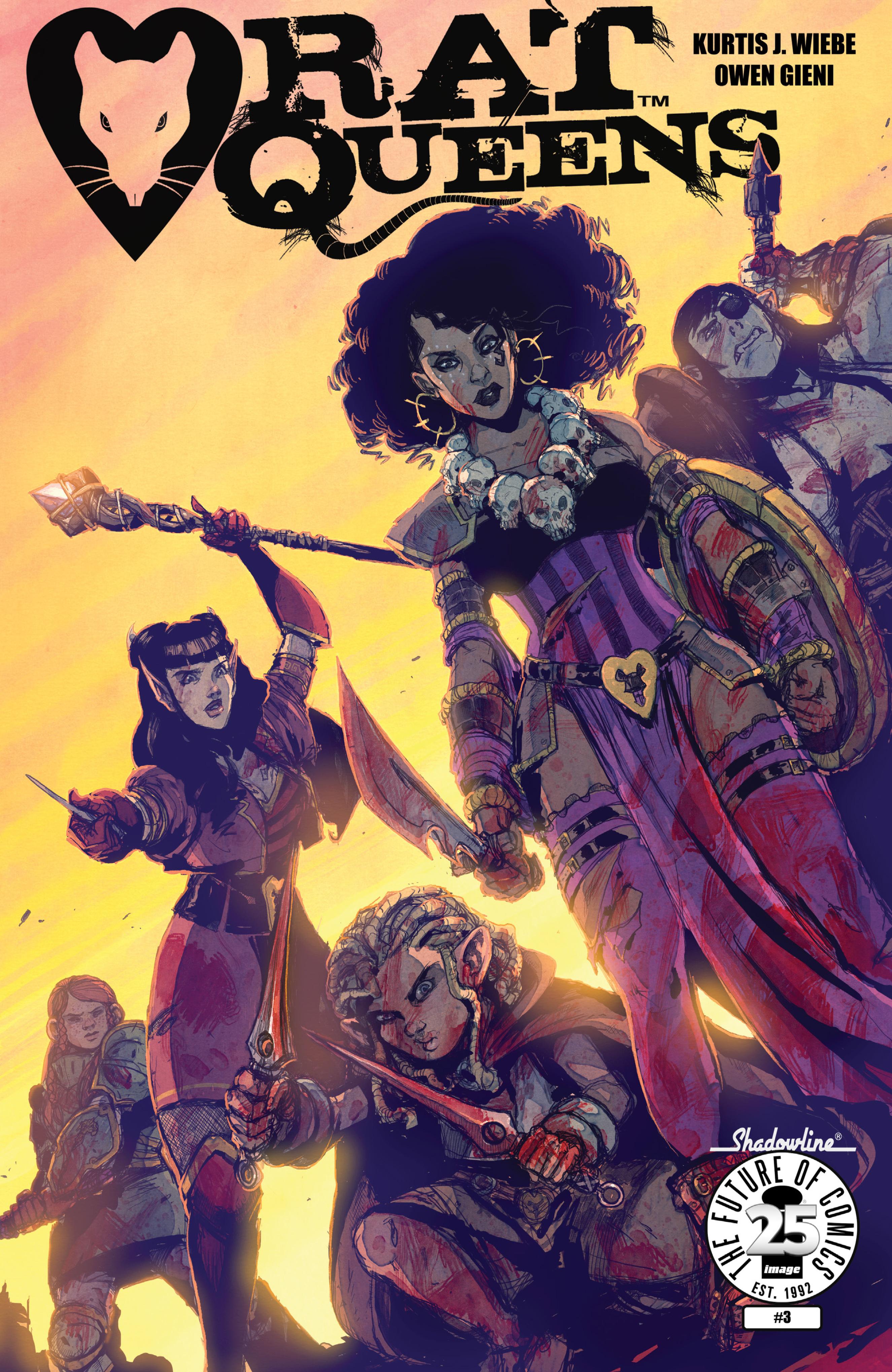 Read online Rat Queens (2017) comic -  Issue #3 - 1