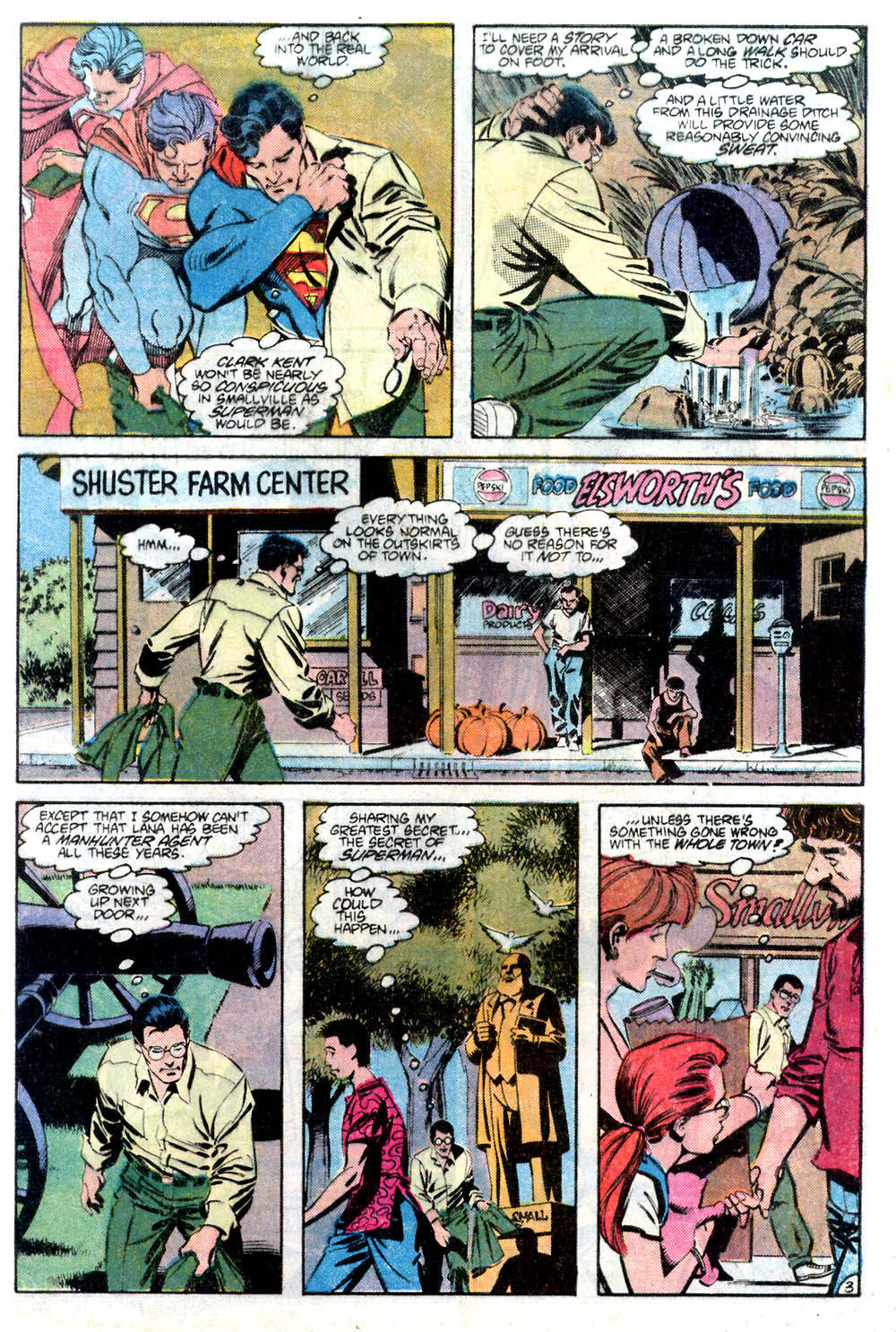 Read online Adventures of Superman (1987) comic -  Issue #436 - 4