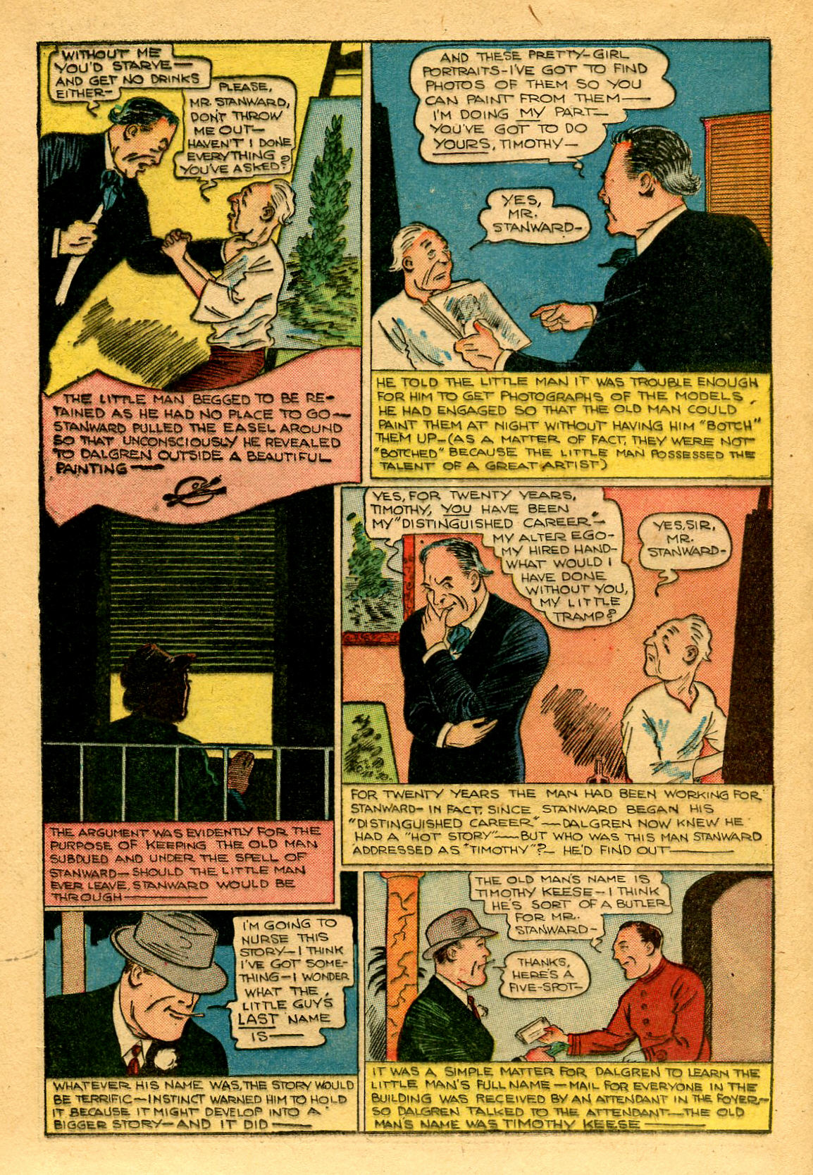 Read online Shadow Comics comic -  Issue #53 - 33