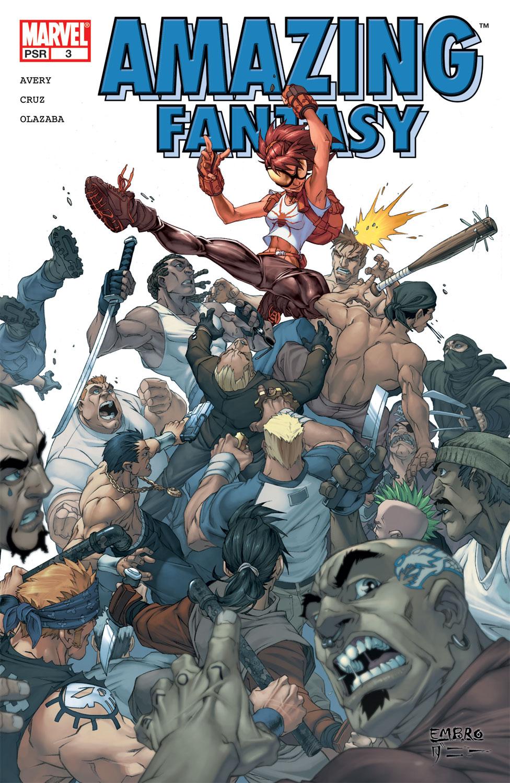 Read online Amazing Fantasy (2004) comic -  Issue #3 - 1