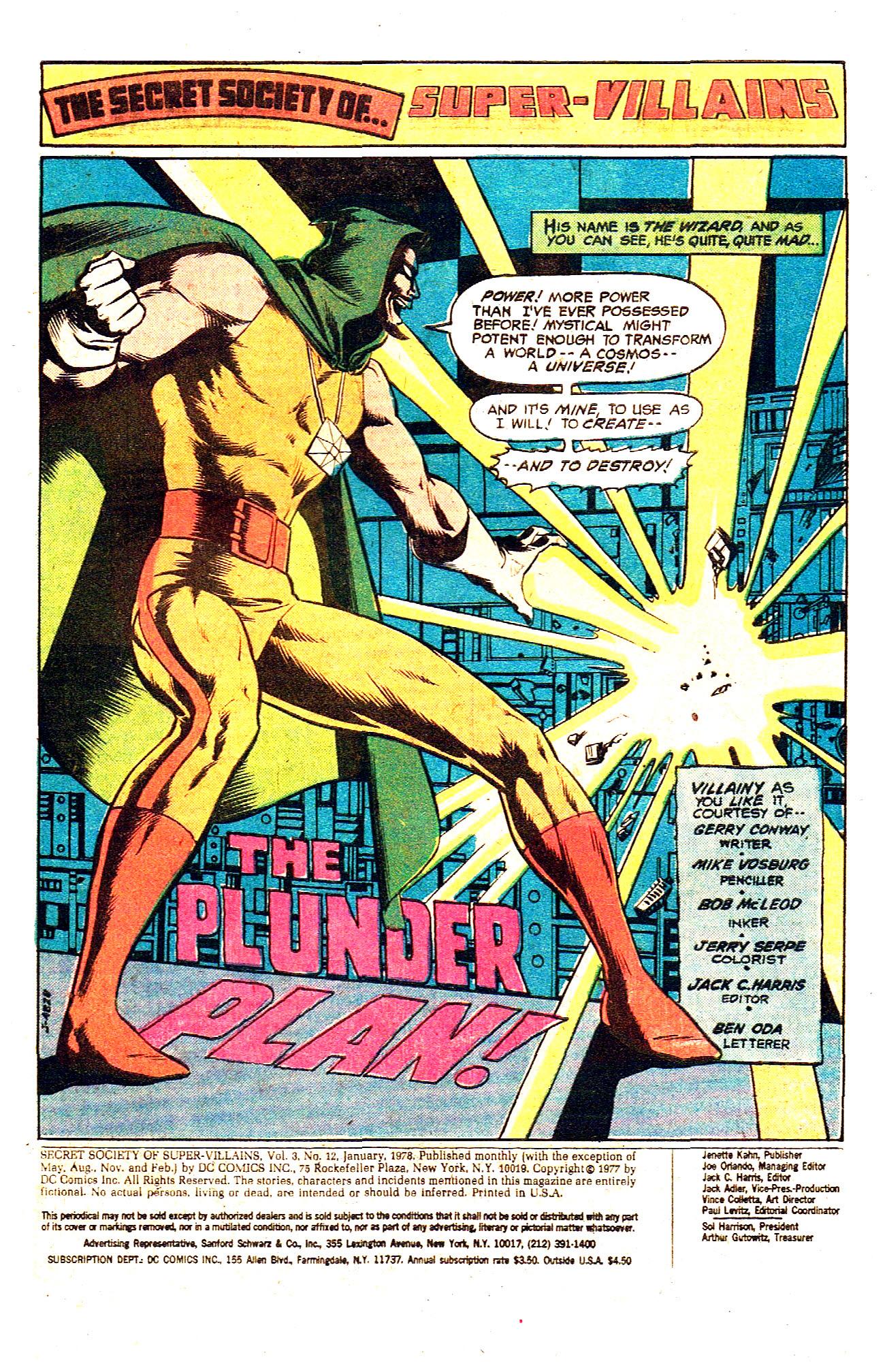Read online Secret Society of Super-Villains comic -  Issue #12 - 3