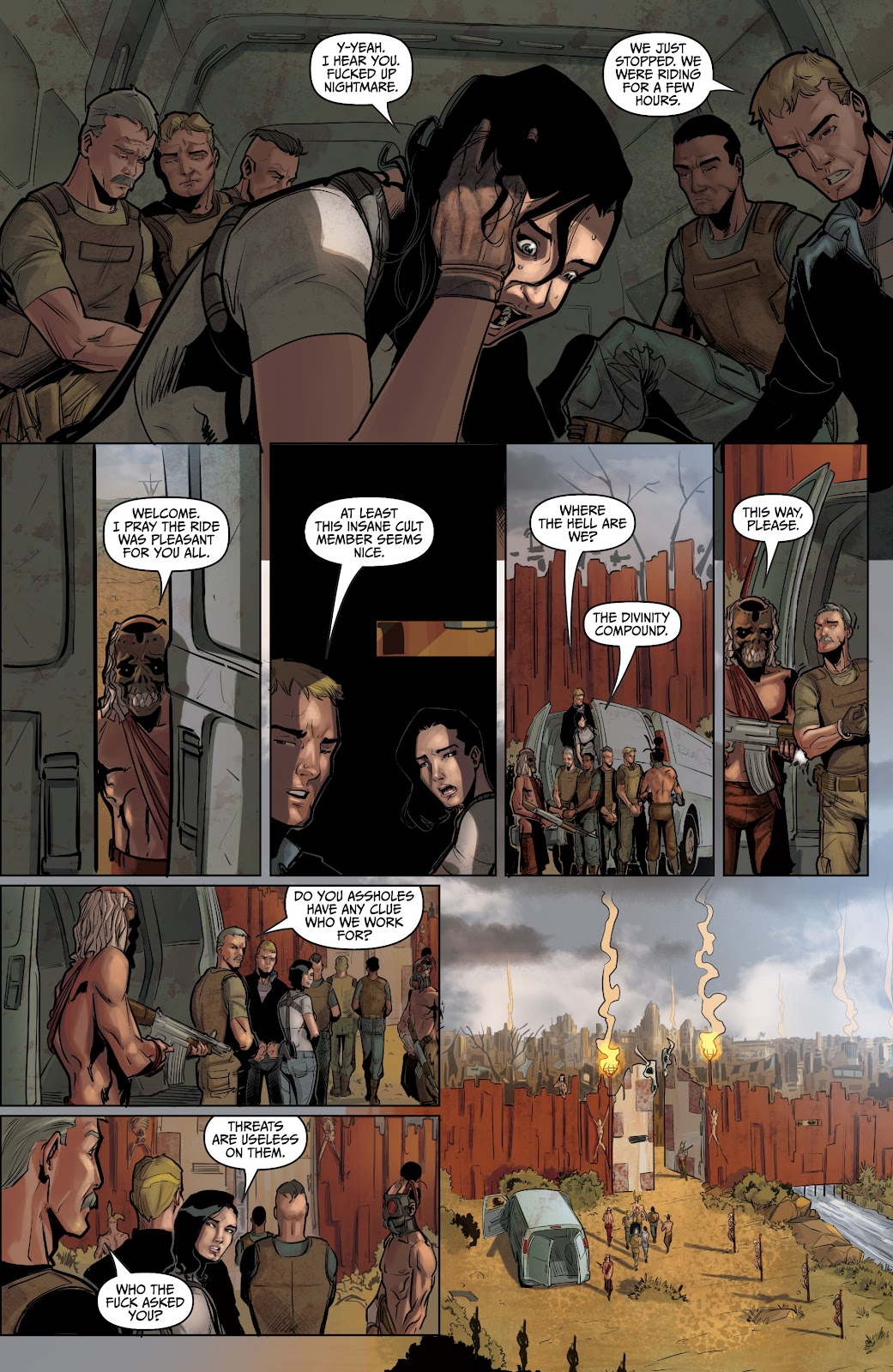 The Courier: Liberty & Death issue 2 - Page 14