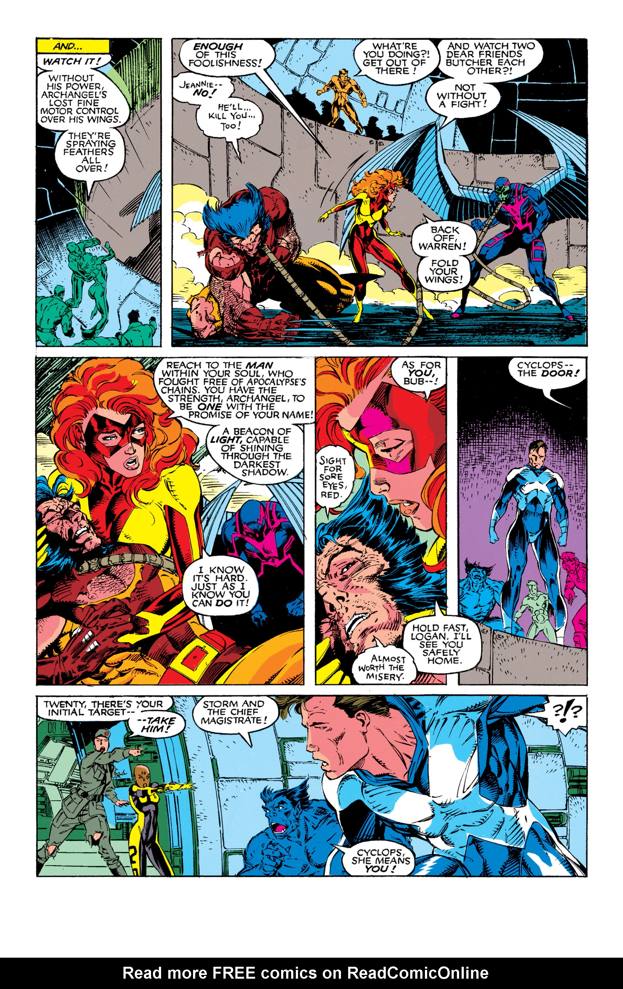 Read online Uncanny X-Men (1963) comic -  Issue #272 - 21