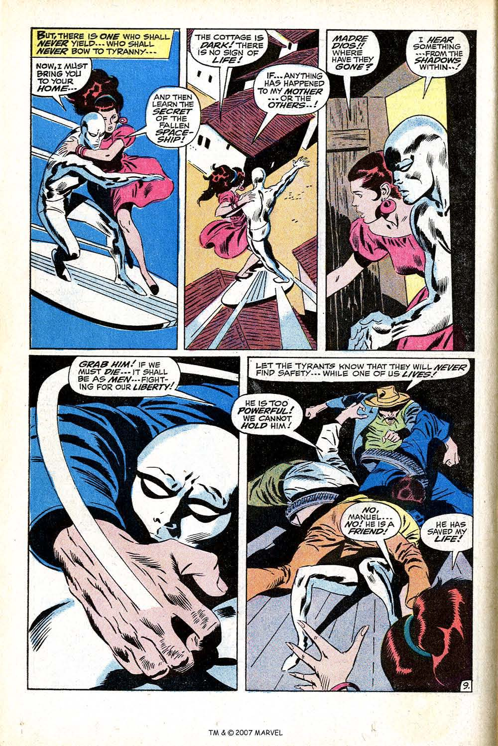 Read online Silver Surfer (1968) comic -  Issue #11 - 14