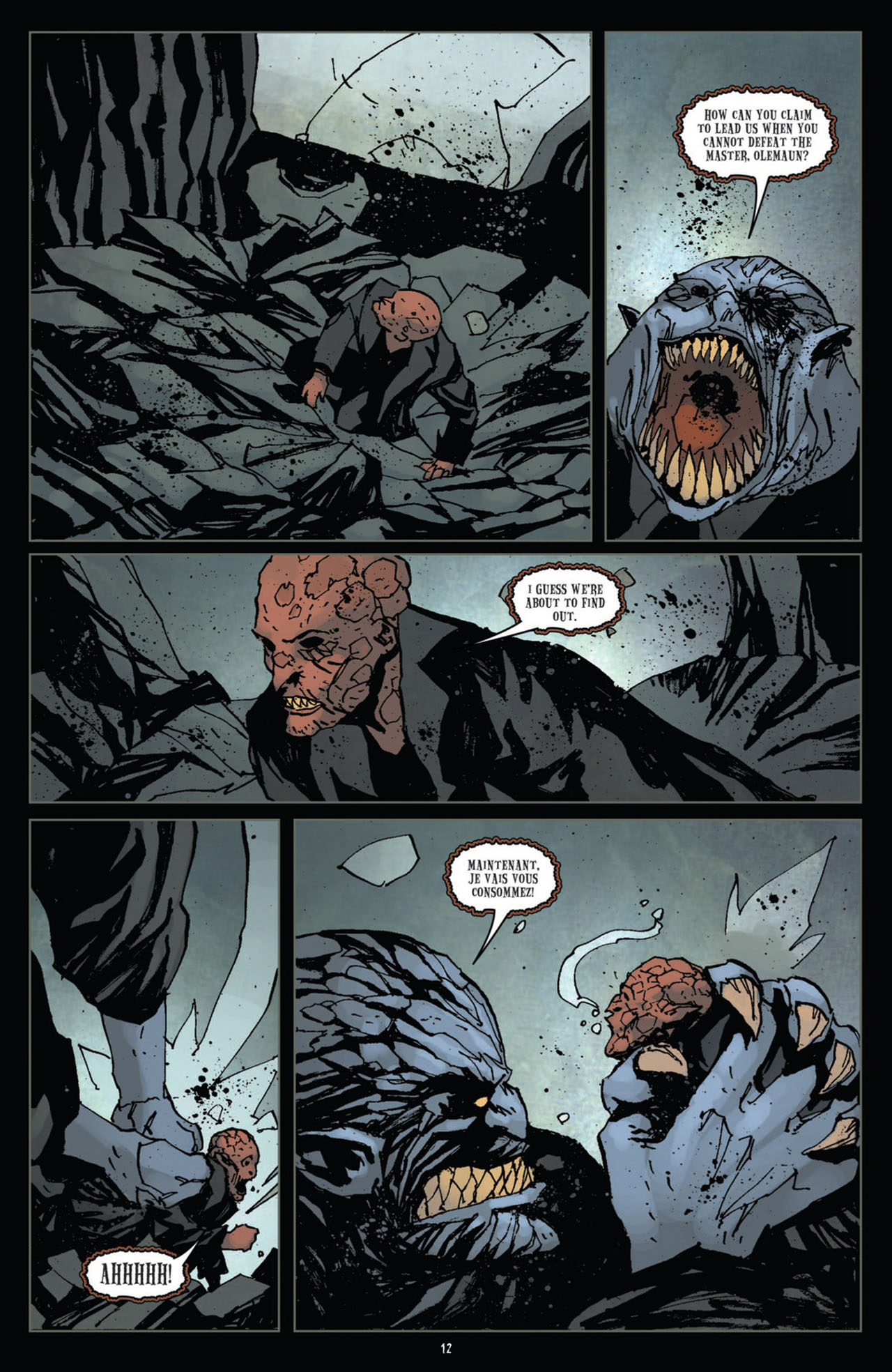 Read online 30 Days of Night (2011) comic -  Issue #12 - 13