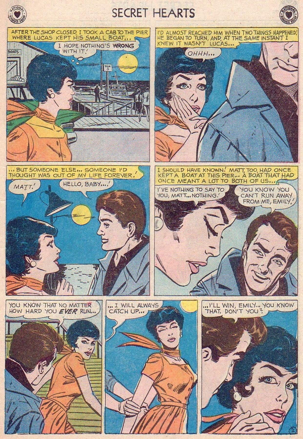 Read online Secret Hearts comic -  Issue #61 - 11