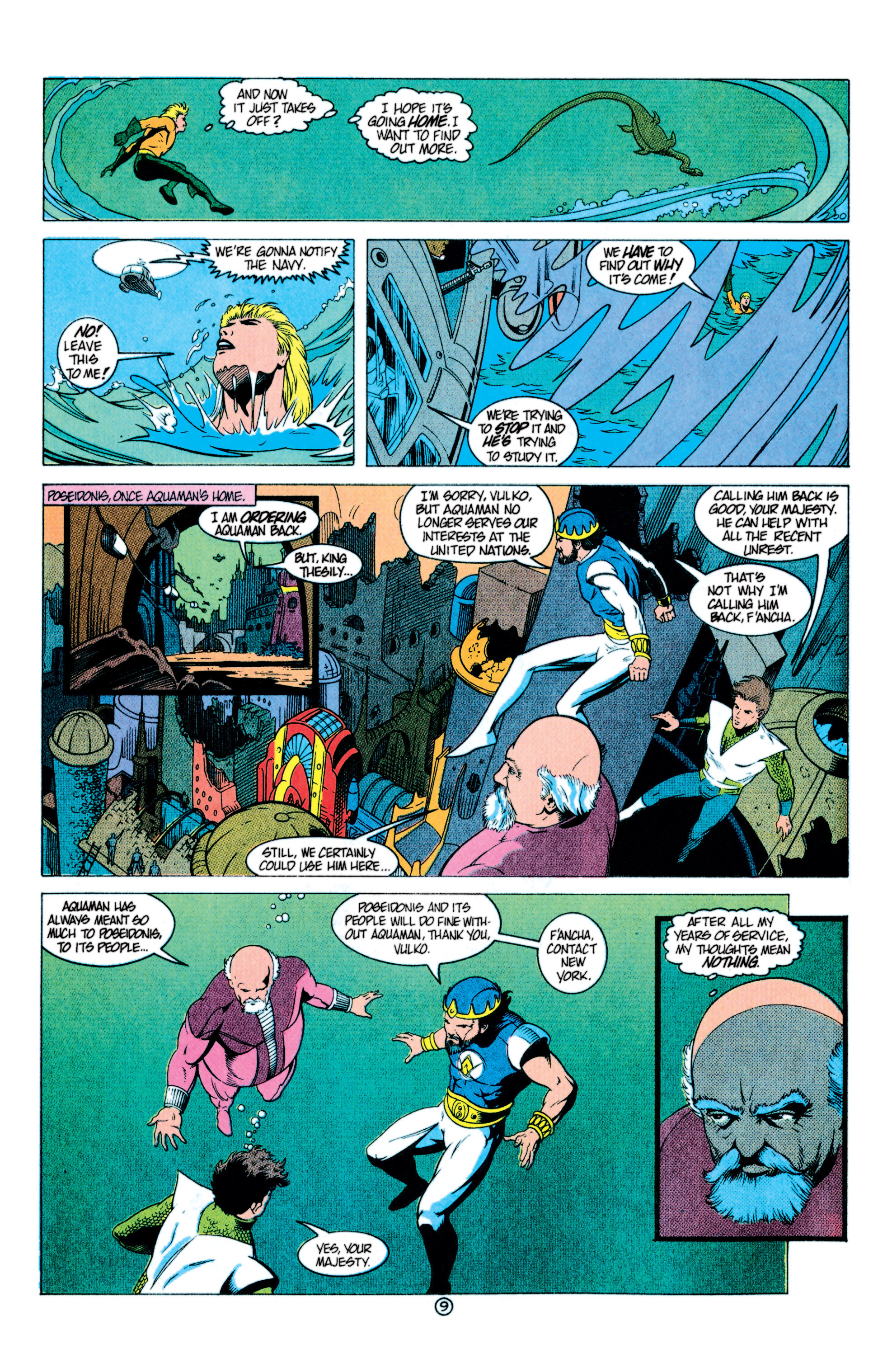 Read online Aquaman (1991) comic -  Issue #11 - 10