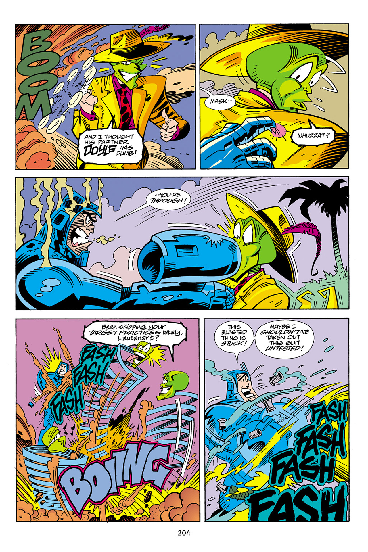 Read online Adventures Of The Mask Omnibus comic -  Issue #Adventures Of The Mask Omnibus Full - 203