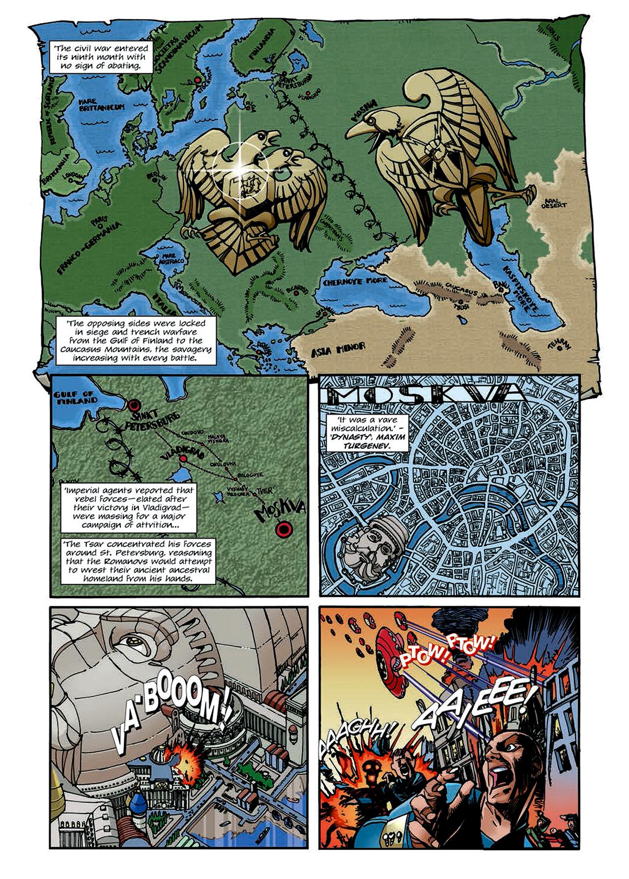 Read online Nikolai Dante comic -  Issue # TPB 4 - 126