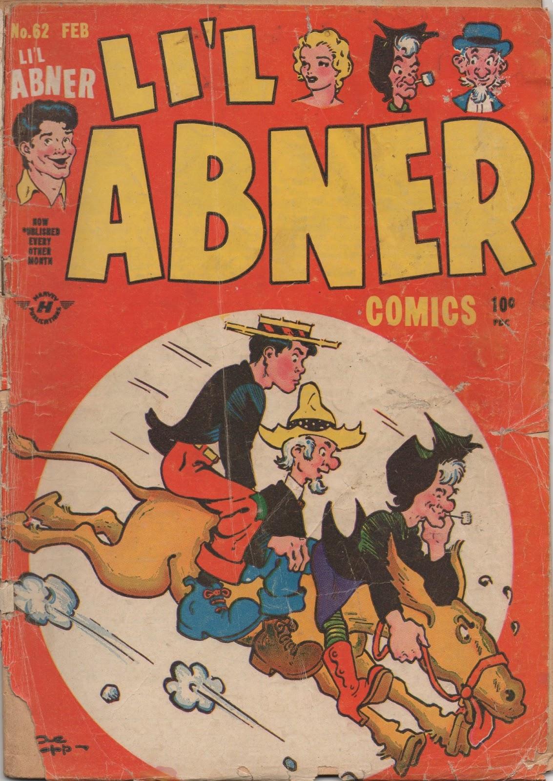 Lil Abner Comics 62 Page 1