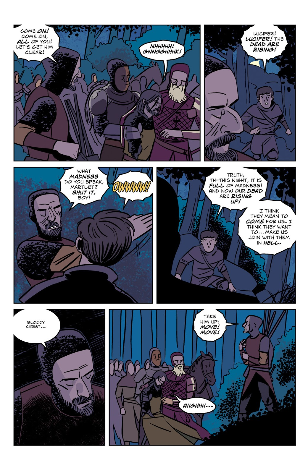 Read online Dark Ages comic -  Issue #1 - 15