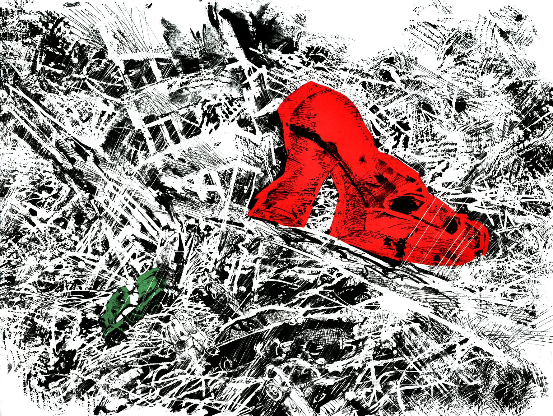 Read online Frank Miller's Holy Terror comic -  Issue # TPB - 60