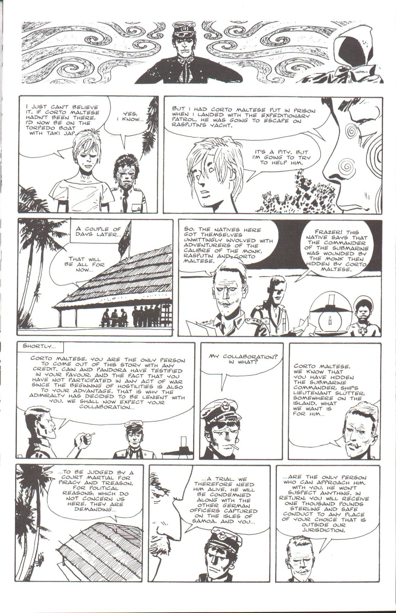 Read online Corto Maltese: Ballad of the Salt Sea comic -  Issue #7 - 3