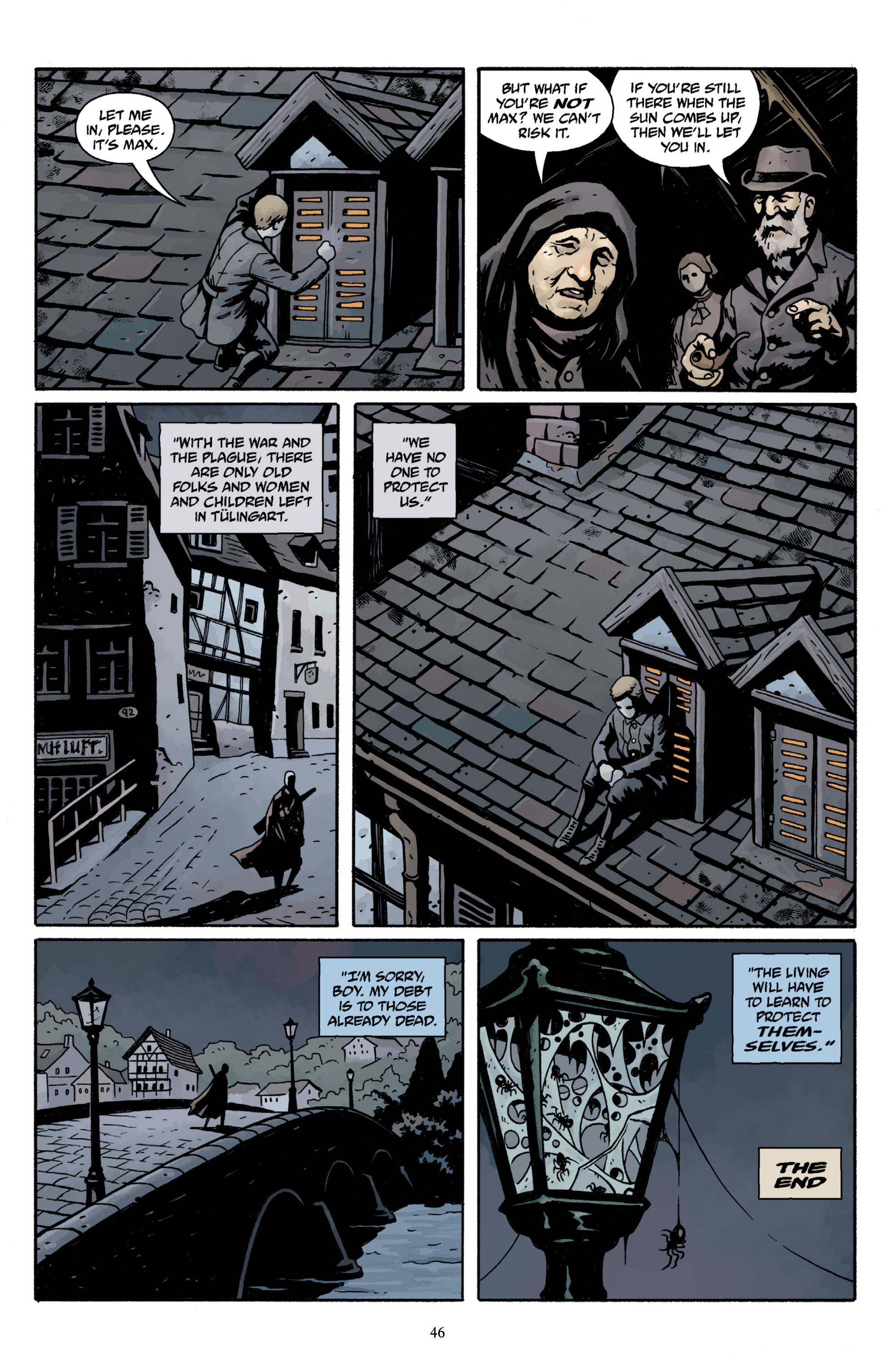 Read online Baltimore Volume 3: A Passing Stranger and Other Stories comic -  Issue # Full - 48