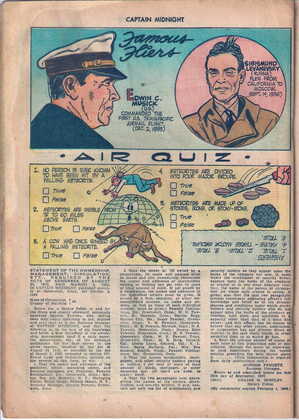 Captain Midnight (1942) issue 59 - Page 19