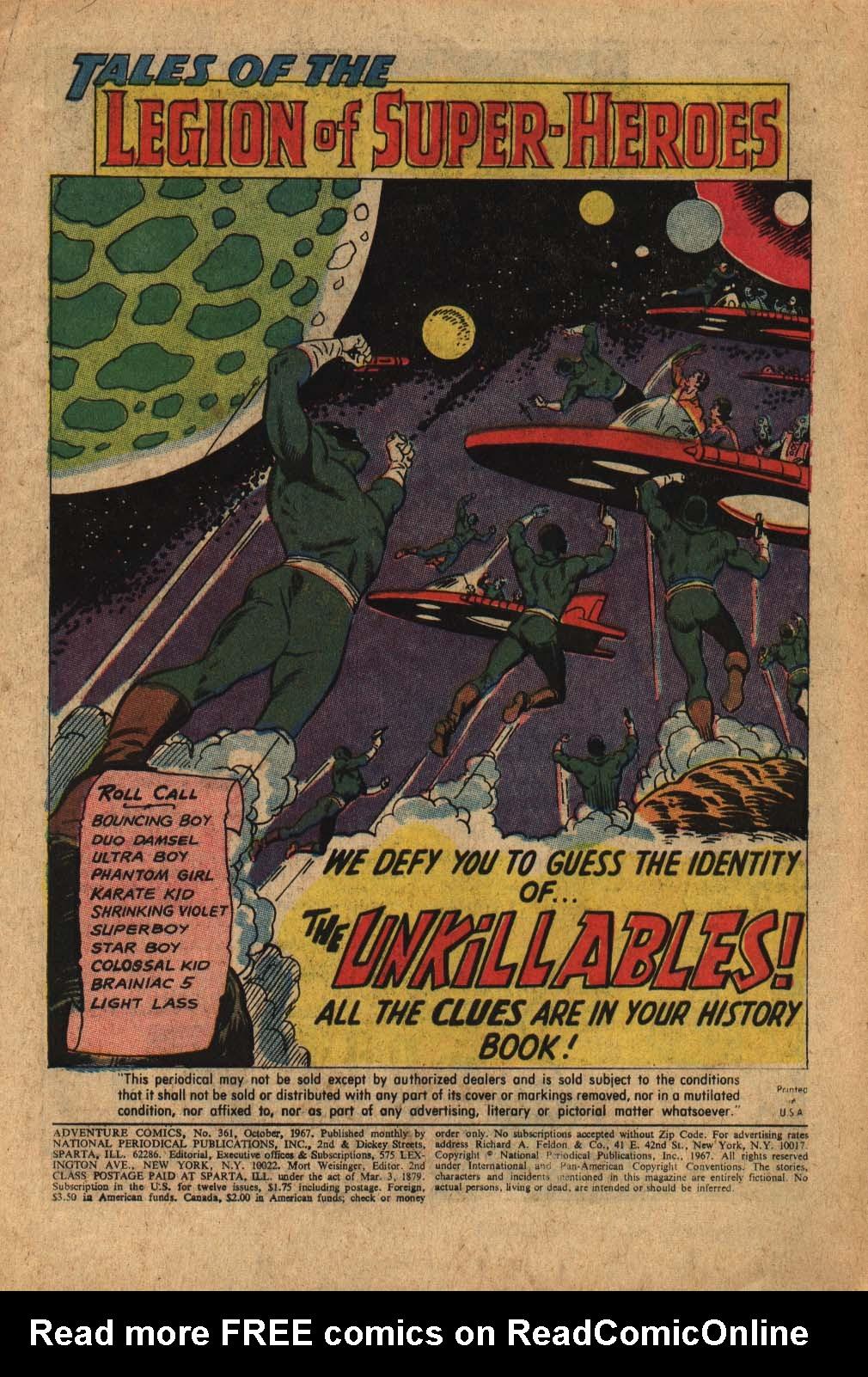 Read online Adventure Comics (1938) comic -  Issue #361 - 3