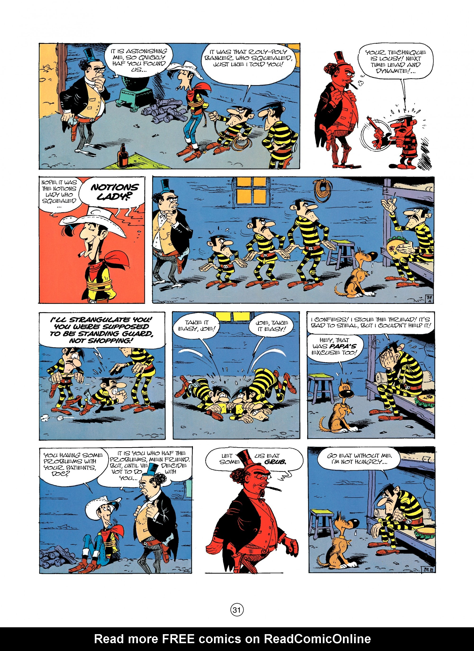 Read online A Lucky Luke Adventure comic -  Issue #23 - 31