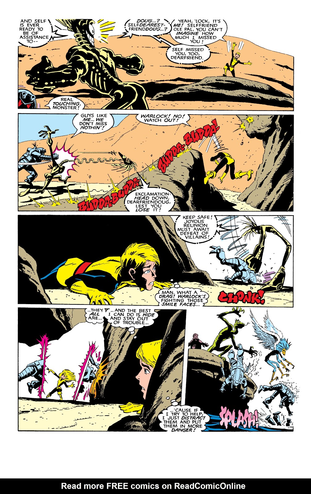 Read online X-Men Milestones: Fall of the Mutants comic -  Issue # TPB (Part 2) - 47