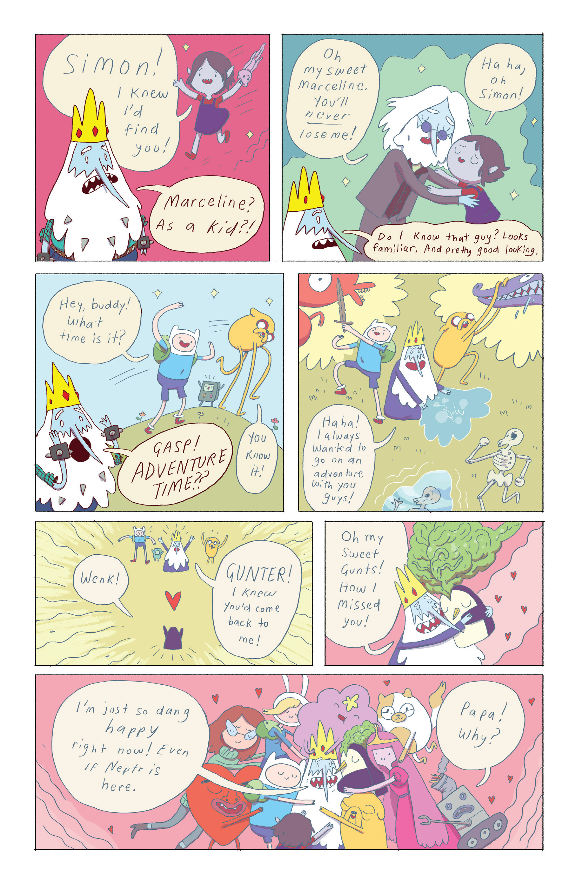 Read online Adventure Time: Ice King comic -  Issue #4 - 13