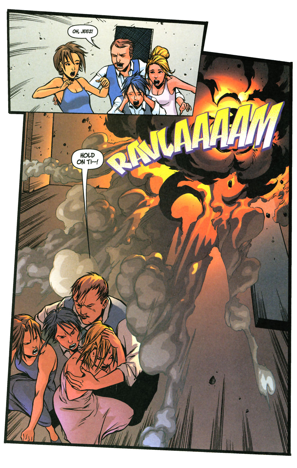 Read online SpyBoy: Final Exam comic -  Issue #3 - 22
