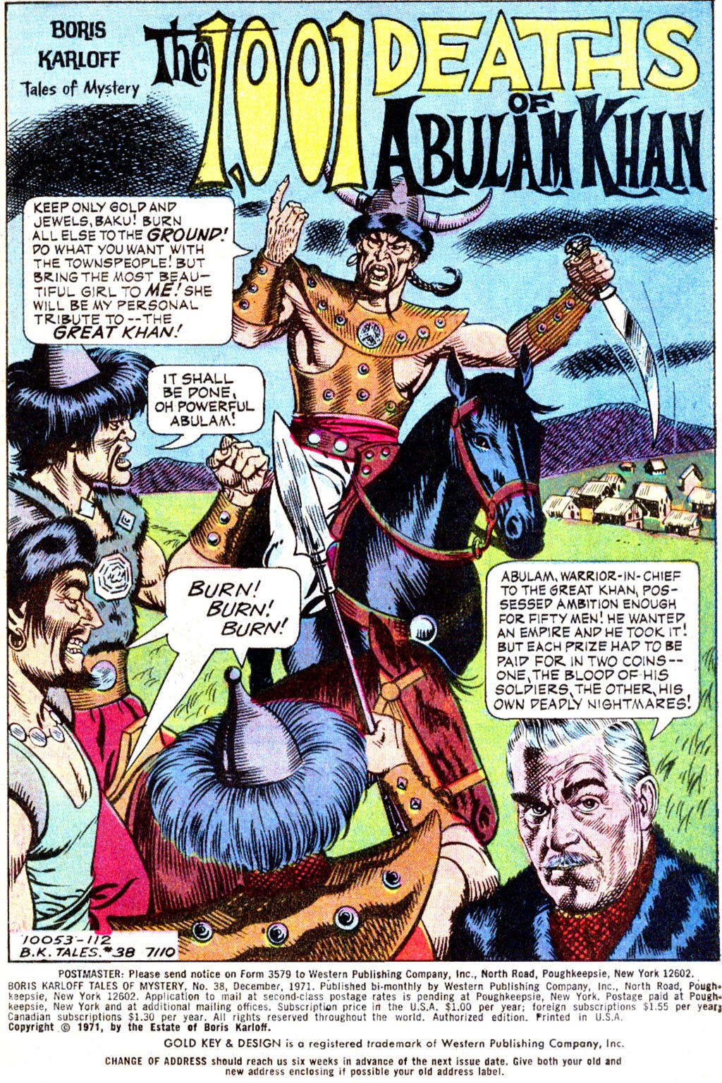 Boris Karloff Tales of Mystery issue 38 - Page 3
