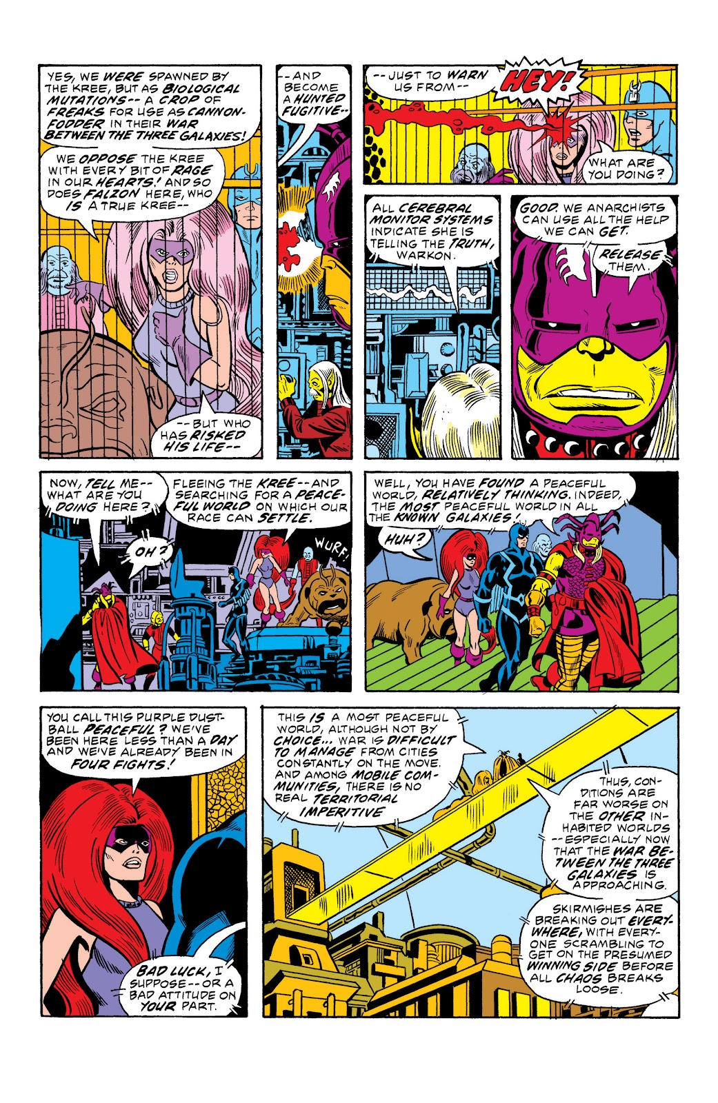 Read online Marvel Masterworks: The Inhumans comic -  Issue # TPB 2 (Part 2) - 46